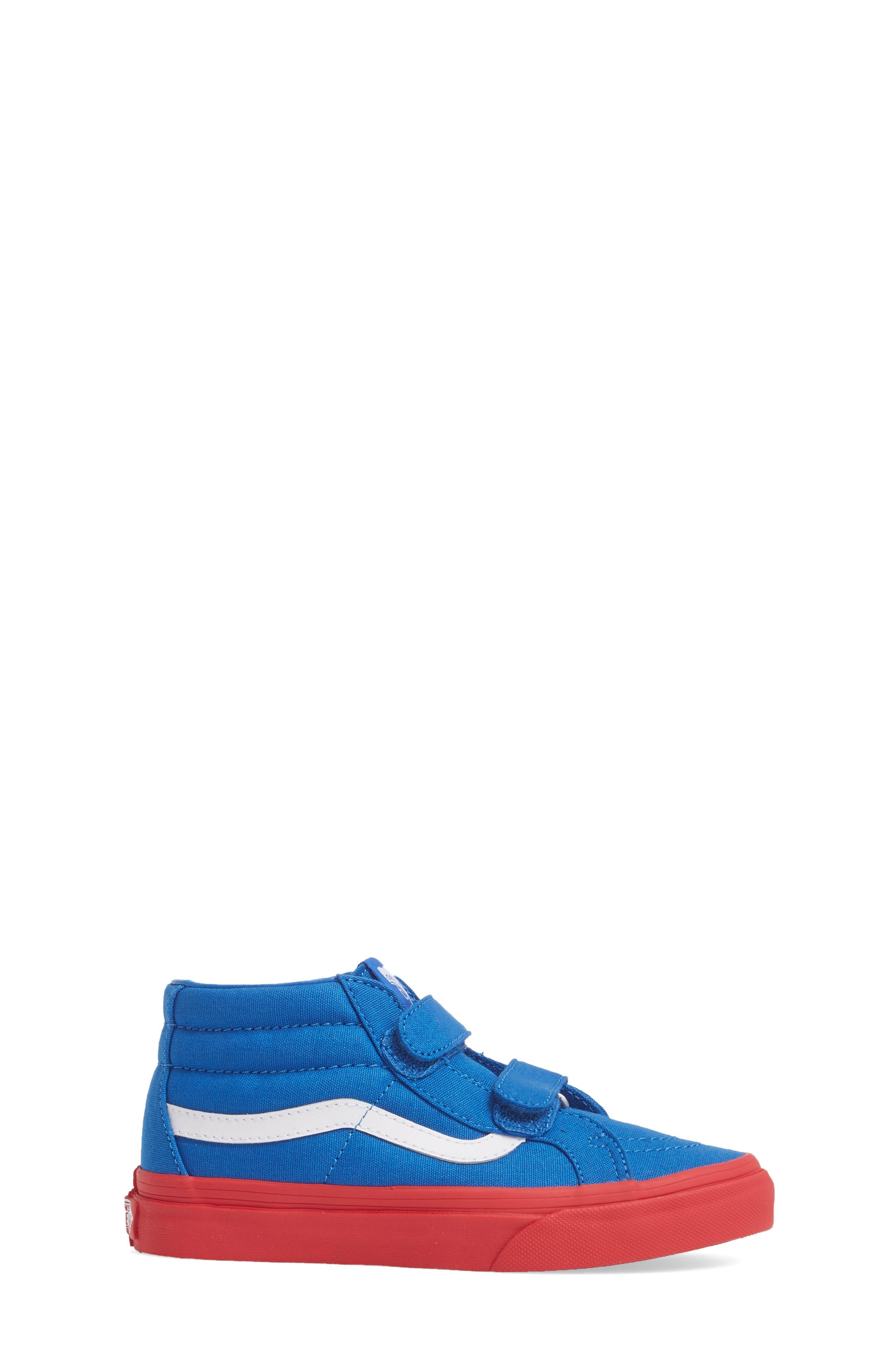 VANS,                             Sk8-Mid Reissue Sneaker,                             Alternate thumbnail 3, color,                             420