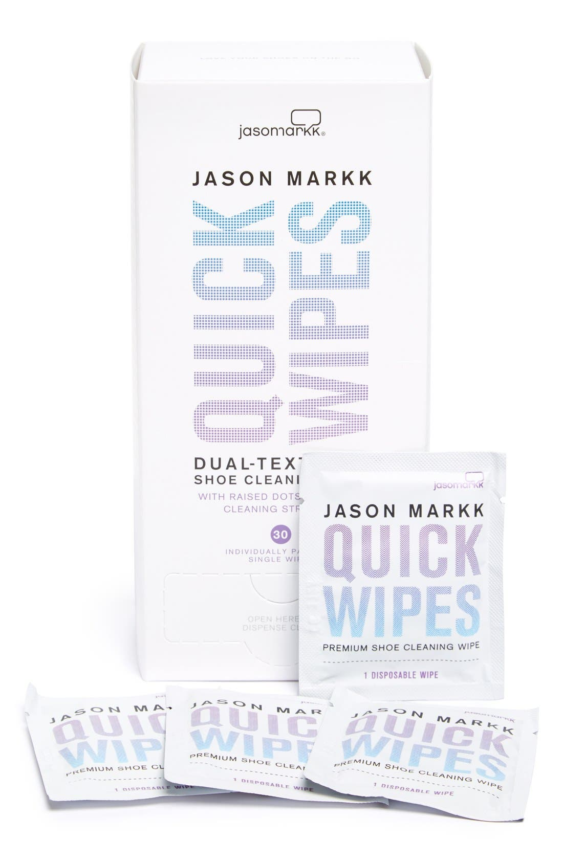 'Quick Wipes' Shoe Cleaning Wipes,                             Main thumbnail 1, color,                             000