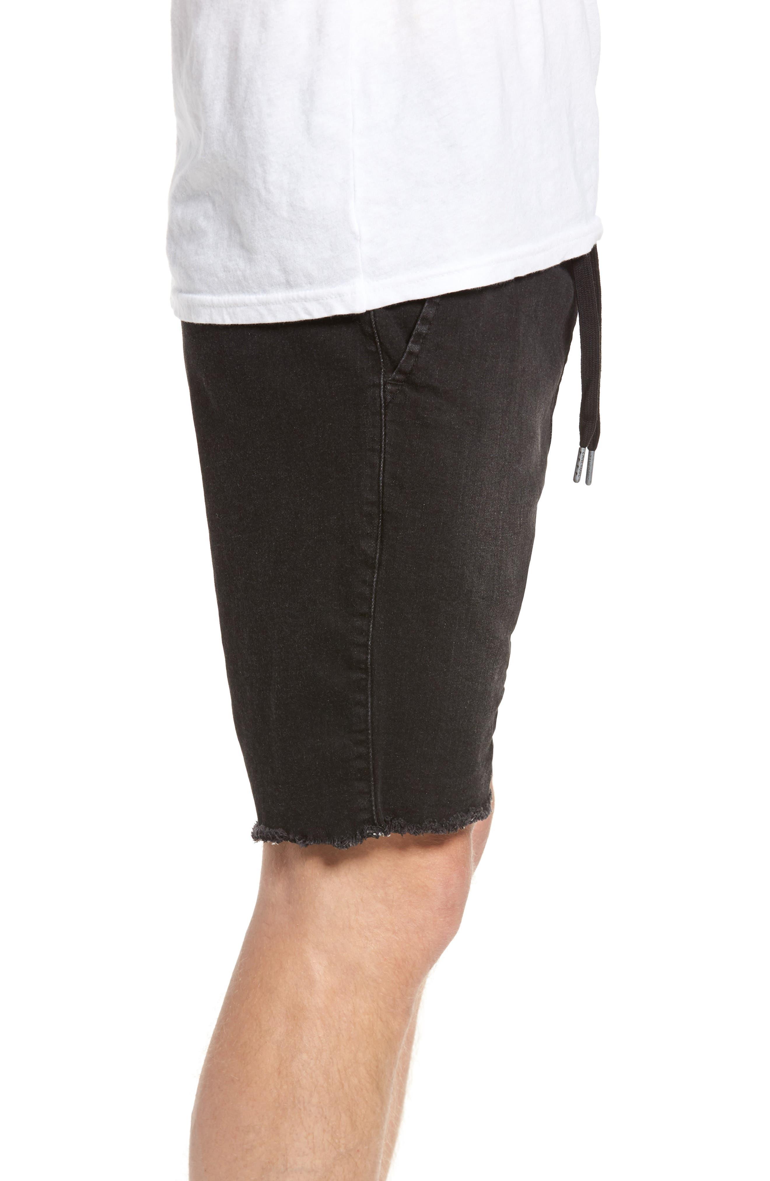 Sureshot Chino Shorts,                             Alternate thumbnail 3, color,                             BLACK WASH