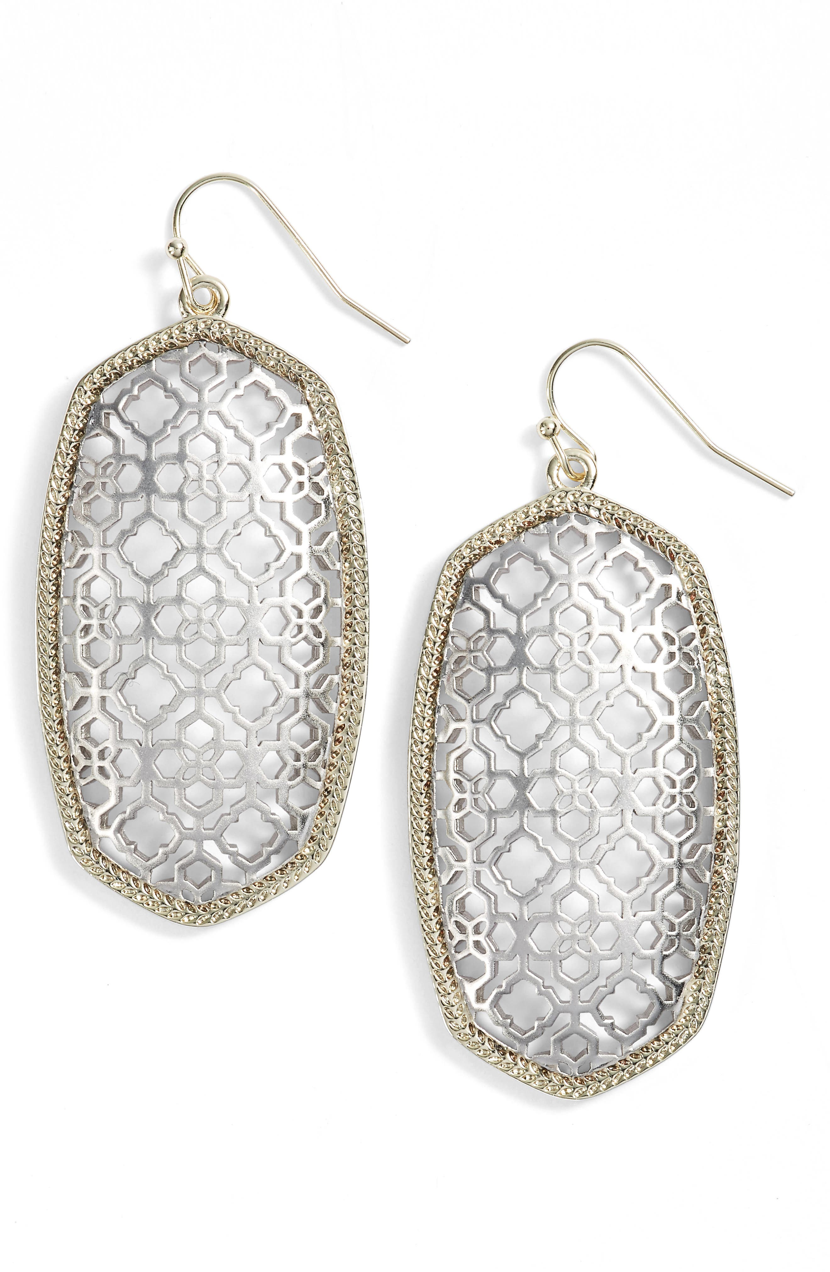 Danielle - Large Oval Statement Earrings,                             Main thumbnail 39, color,