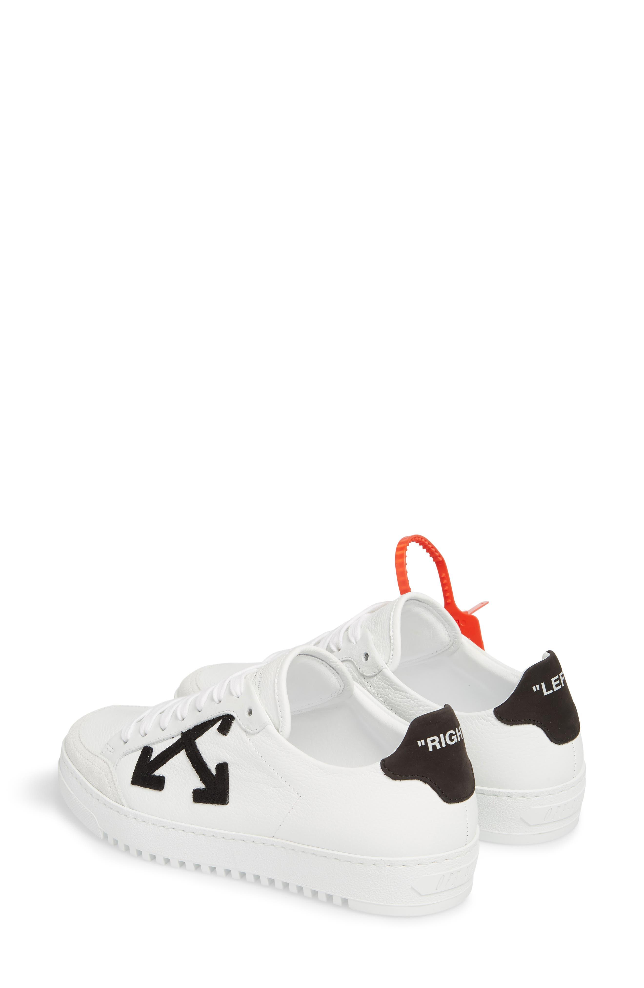 Arrow Sneaker,                             Alternate thumbnail 3, color,                             WHITE BLACK