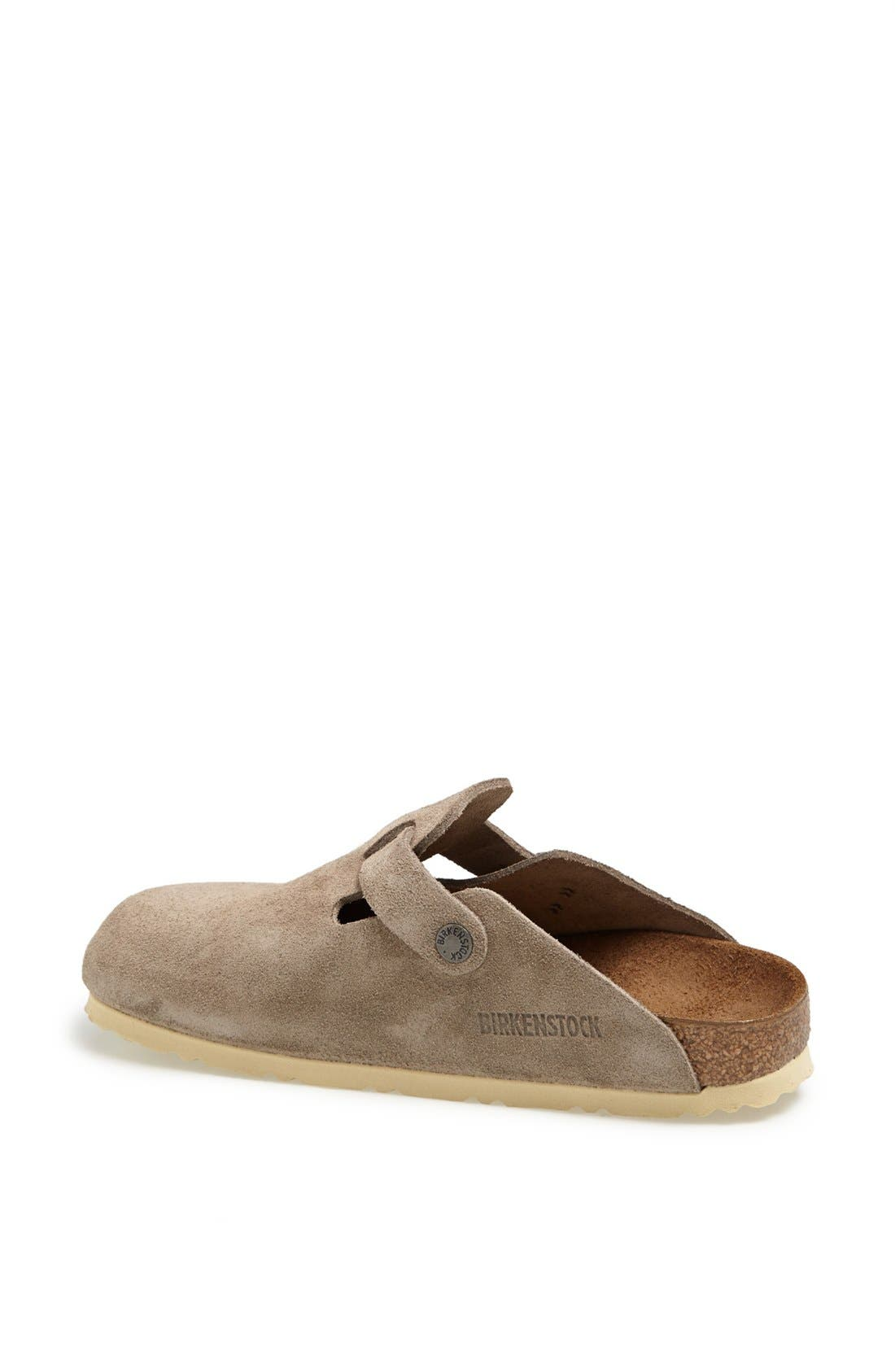 'Boston' Classic Oiled Leather Clog,                             Alternate thumbnail 48, color,