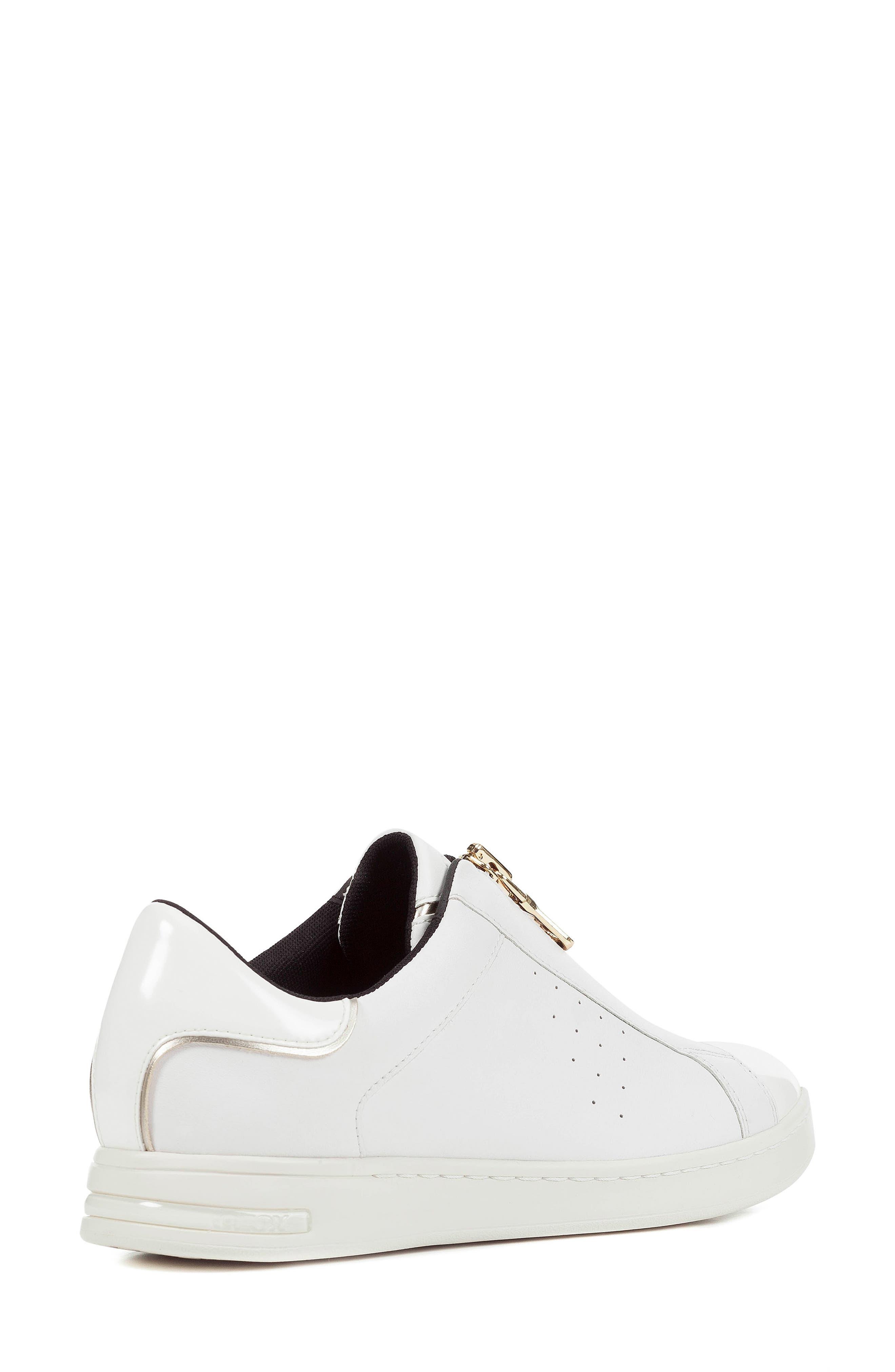 Jaysen Sneaker,                             Alternate thumbnail 2, color,                             WHITE LEATHER