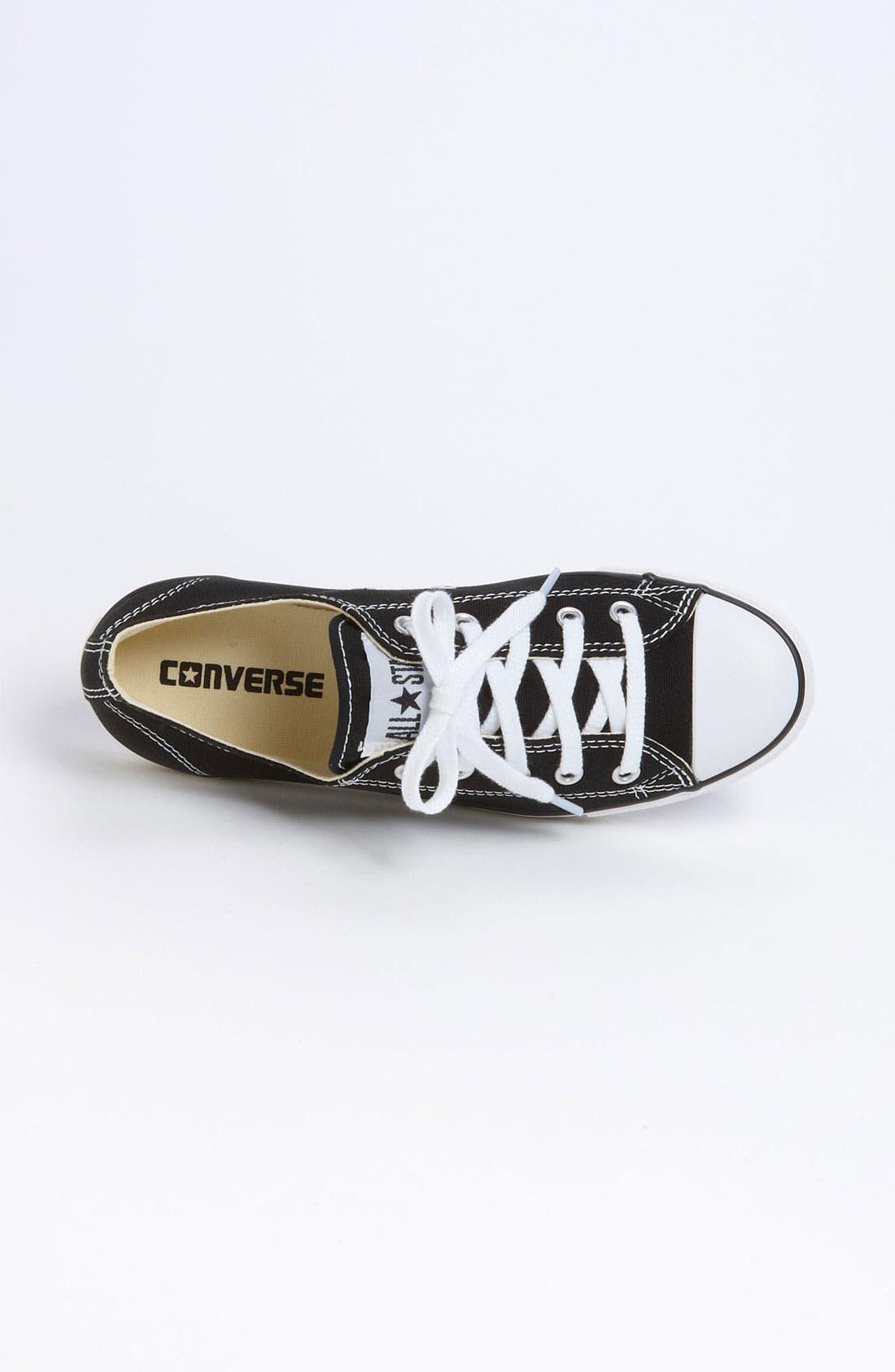 CONVERSE,                             Chuck Taylor<sup>®</sup> 'Dainty' Sneaker,                             Alternate thumbnail 3, color,                             001