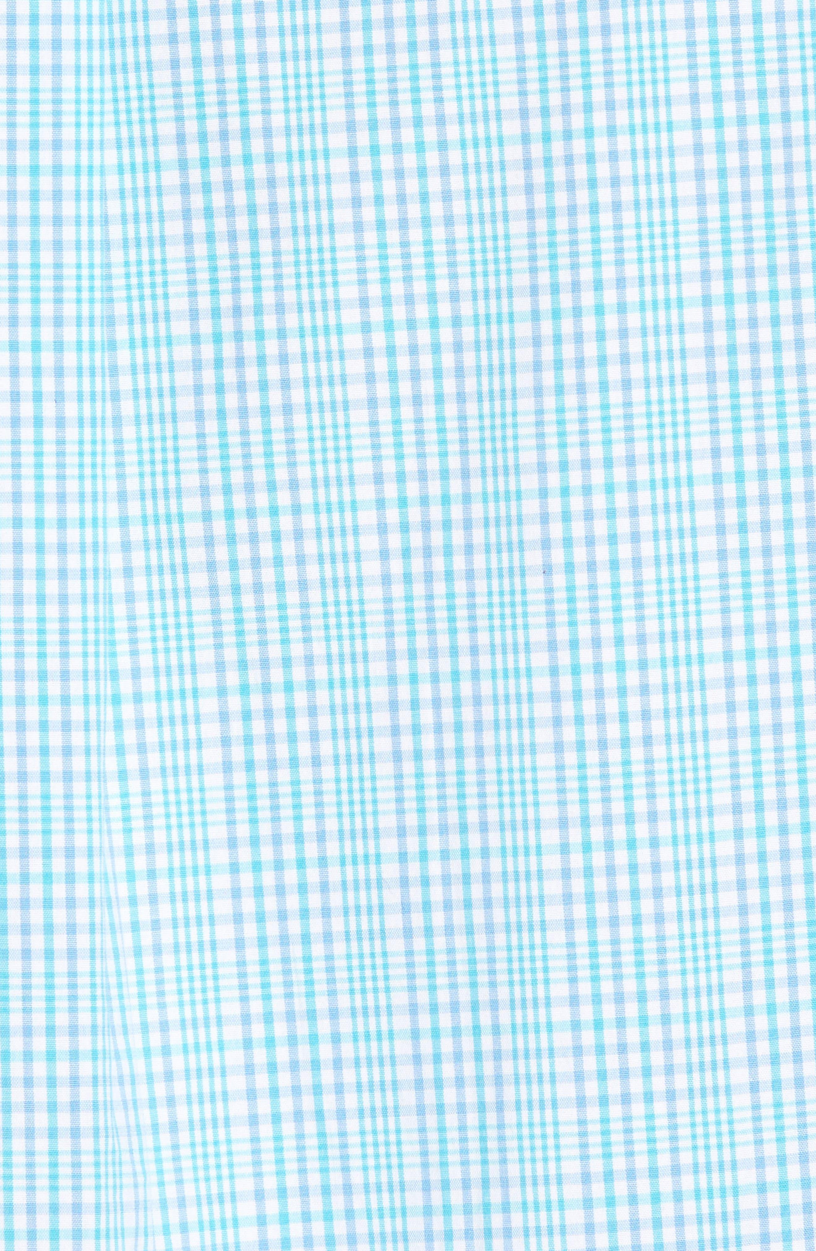 Rolling Harbor Classic Fit Plaid Sport Shirt,                             Alternate thumbnail 5, color,                             459