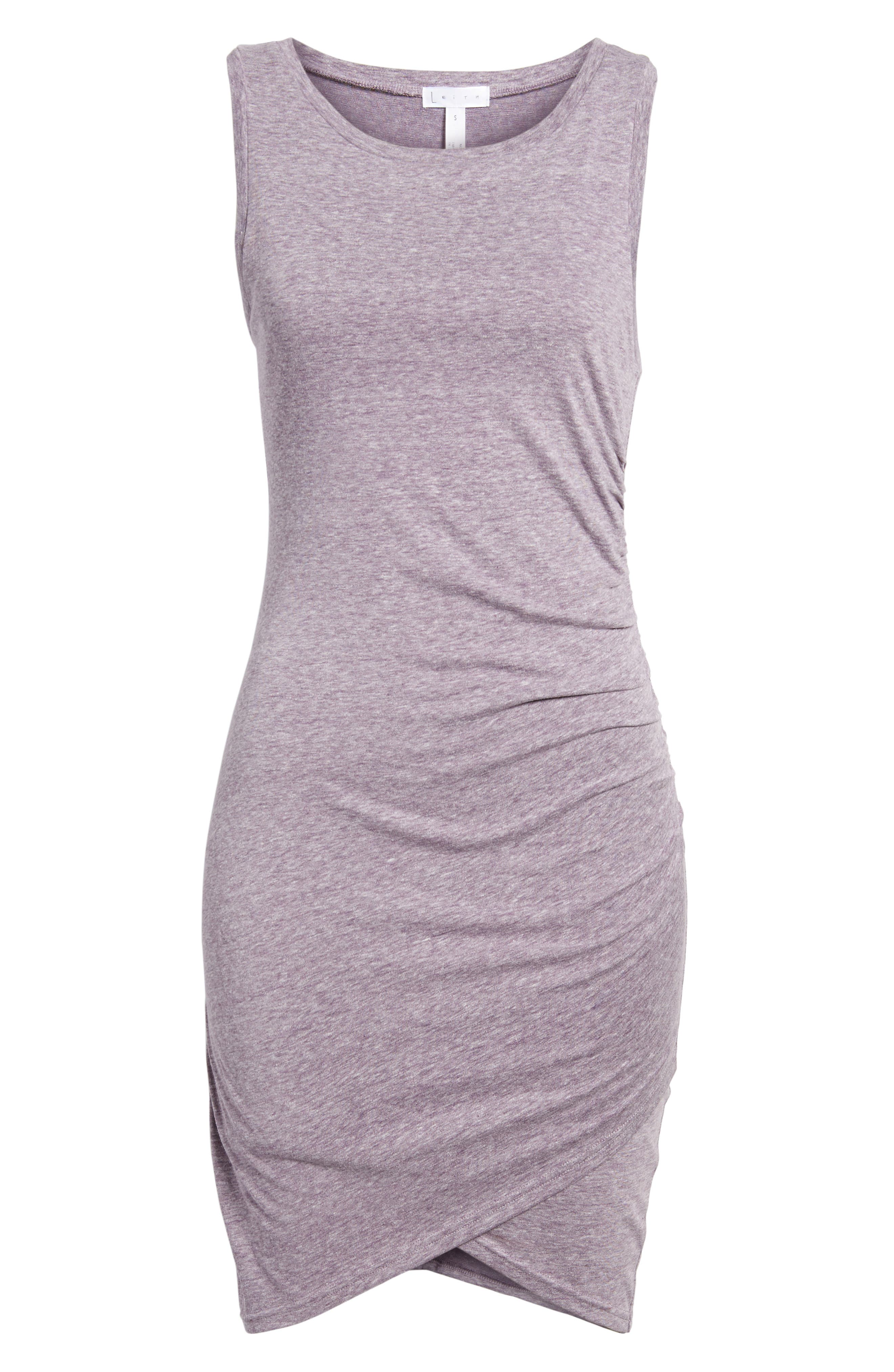 Ruched Body-Con Tank Dress,                             Alternate thumbnail 170, color,