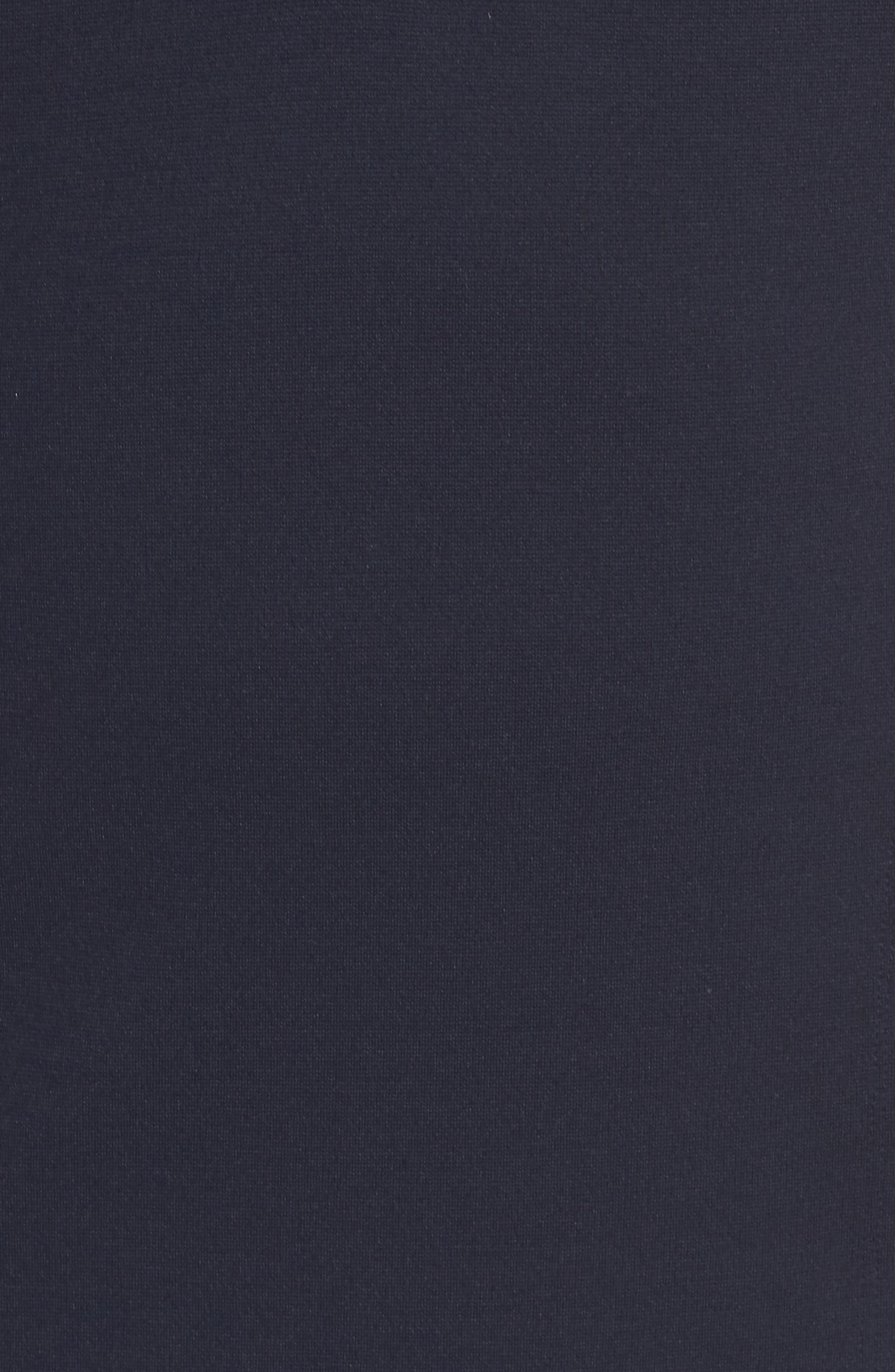 Poplin Collar Knit Dress,                             Alternate thumbnail 5, color,                             410