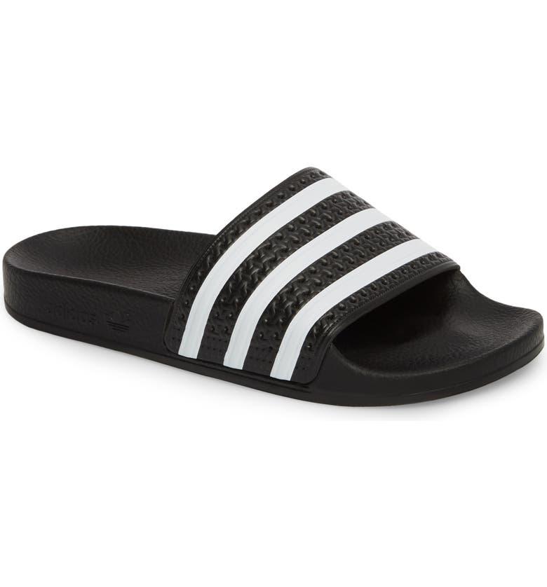 adidas  Adilette  Slide Sandal (Women)  33bf816e8