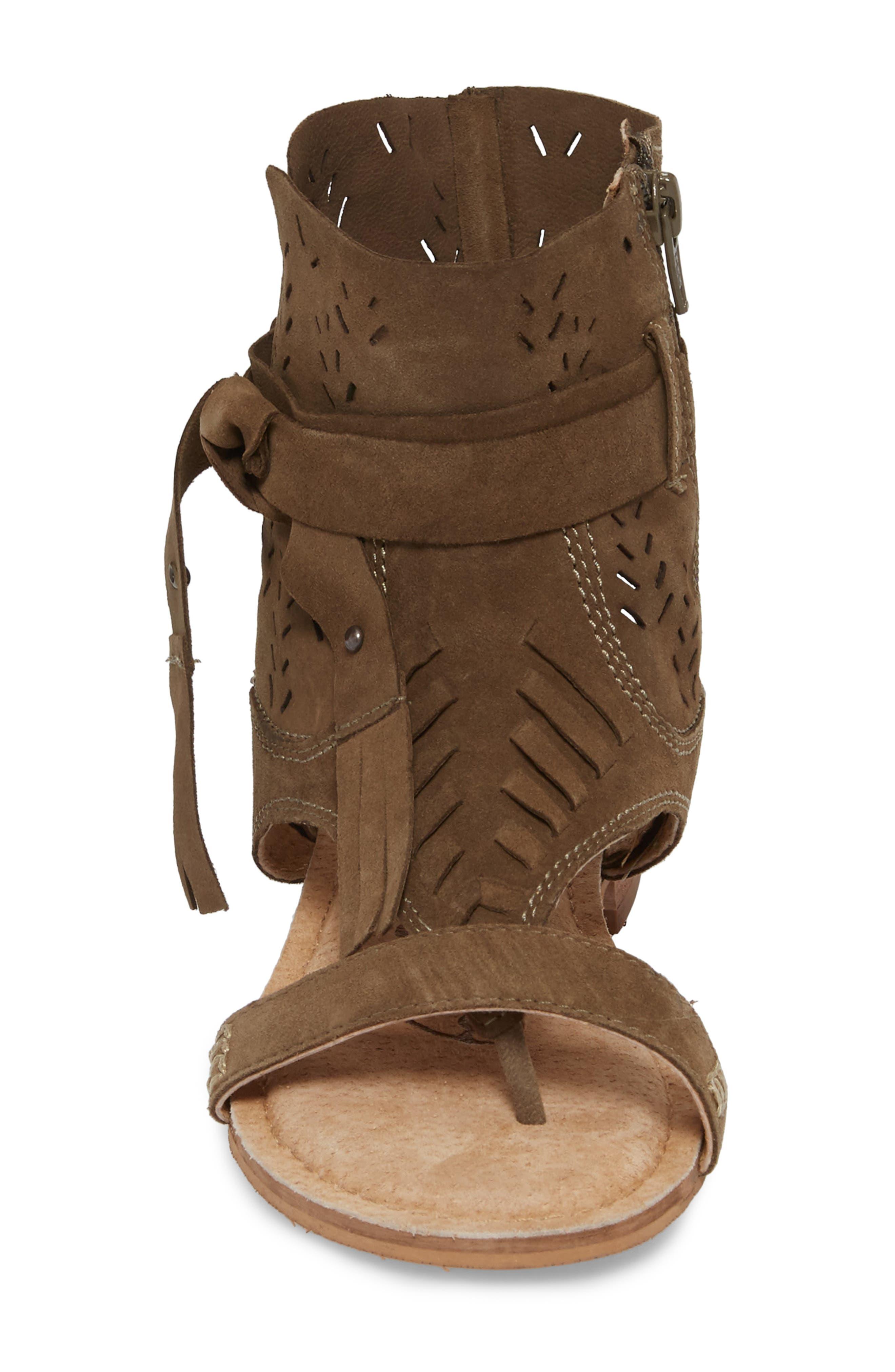 Cochise Flat Sandal,                             Alternate thumbnail 16, color,