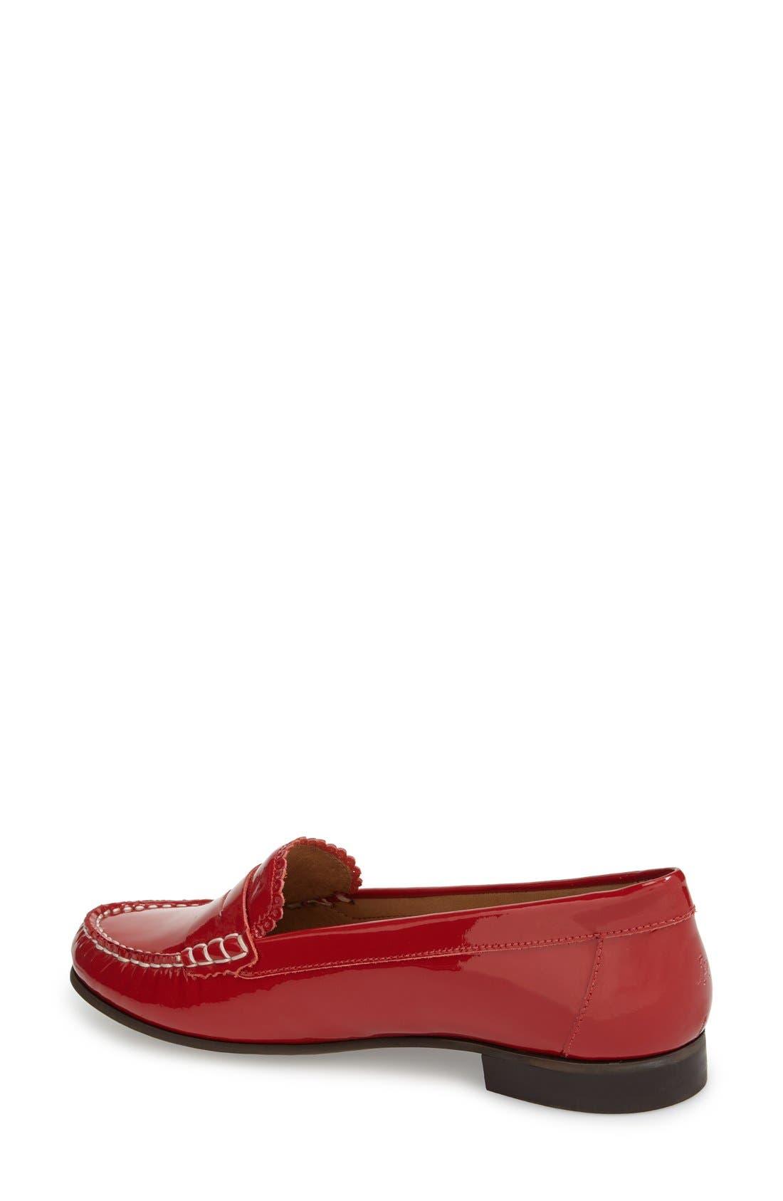 'Quinn' Leather Loafer,                             Alternate thumbnail 12, color,