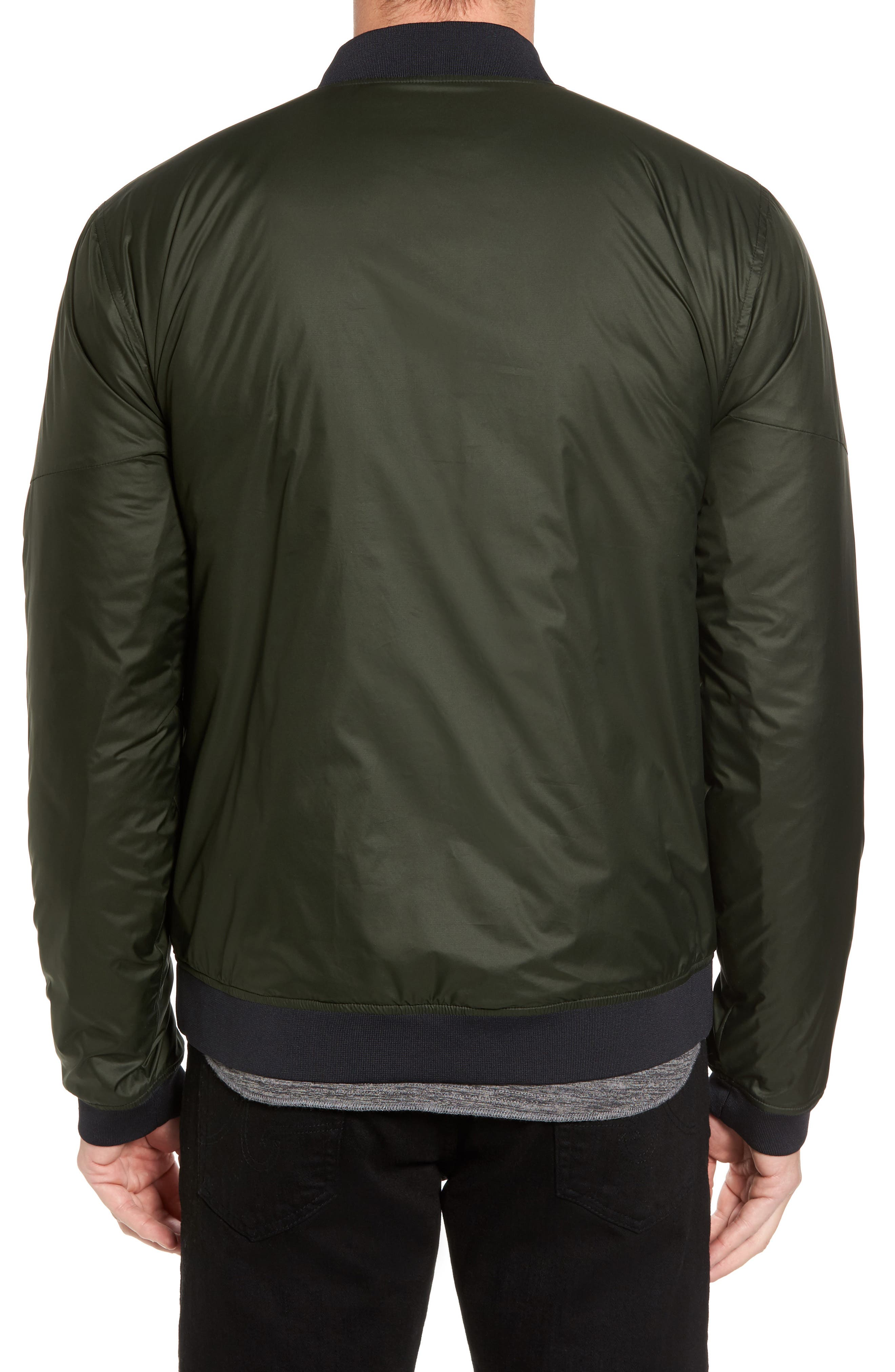 Sportstyle Reactor Reversible Bomber Jacket,                             Alternate thumbnail 6, color,