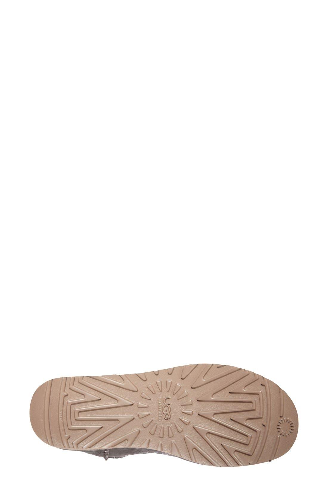 UGG<SUP>®</SUP>,                             Australia 'Classic Mini Leopard' Boot,                             Alternate thumbnail 2, color,                             020