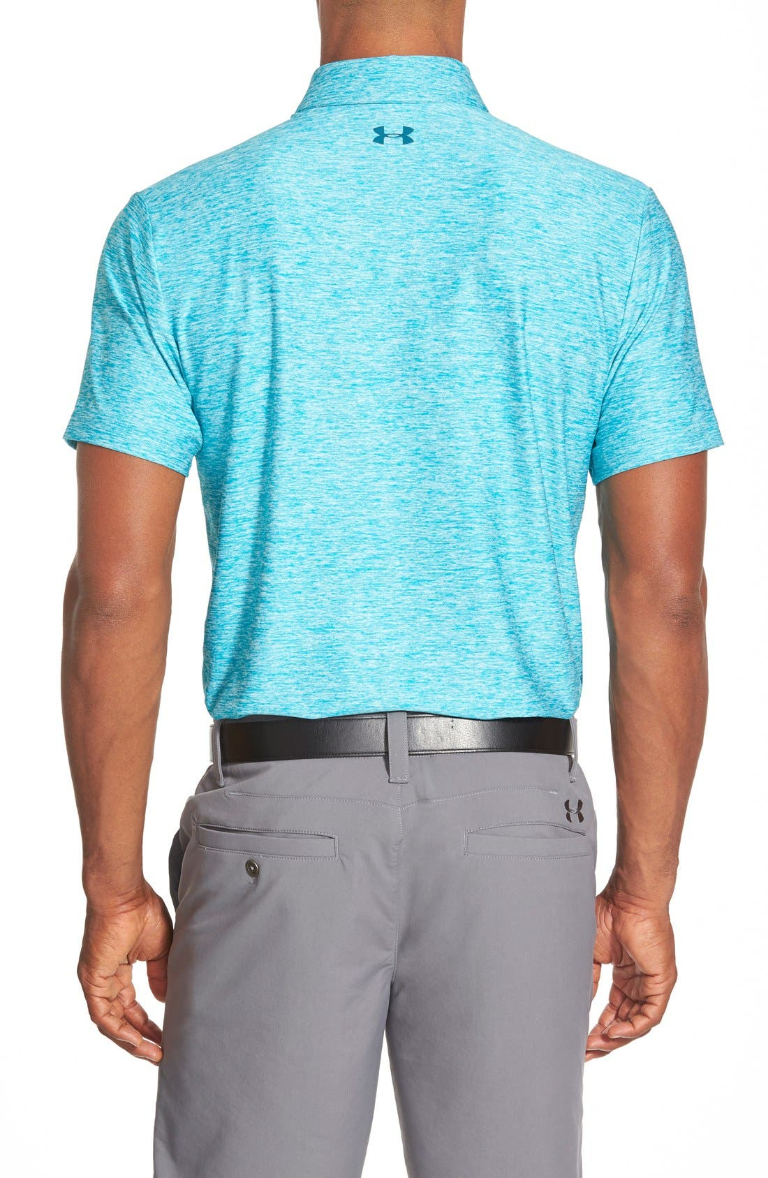 'Playoff' Loose Fit Short Sleeve Polo,                             Alternate thumbnail 100, color,