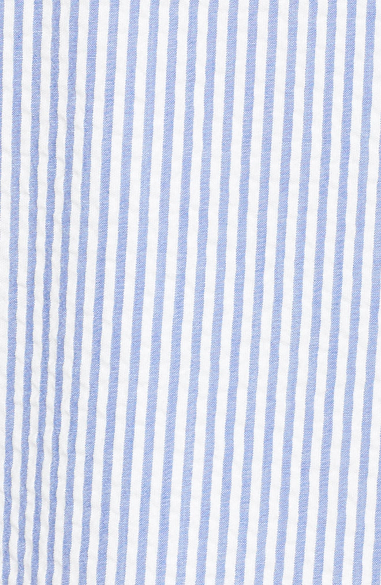 Tie Front Strapless Dress,                             Alternate thumbnail 6, color,                             401
