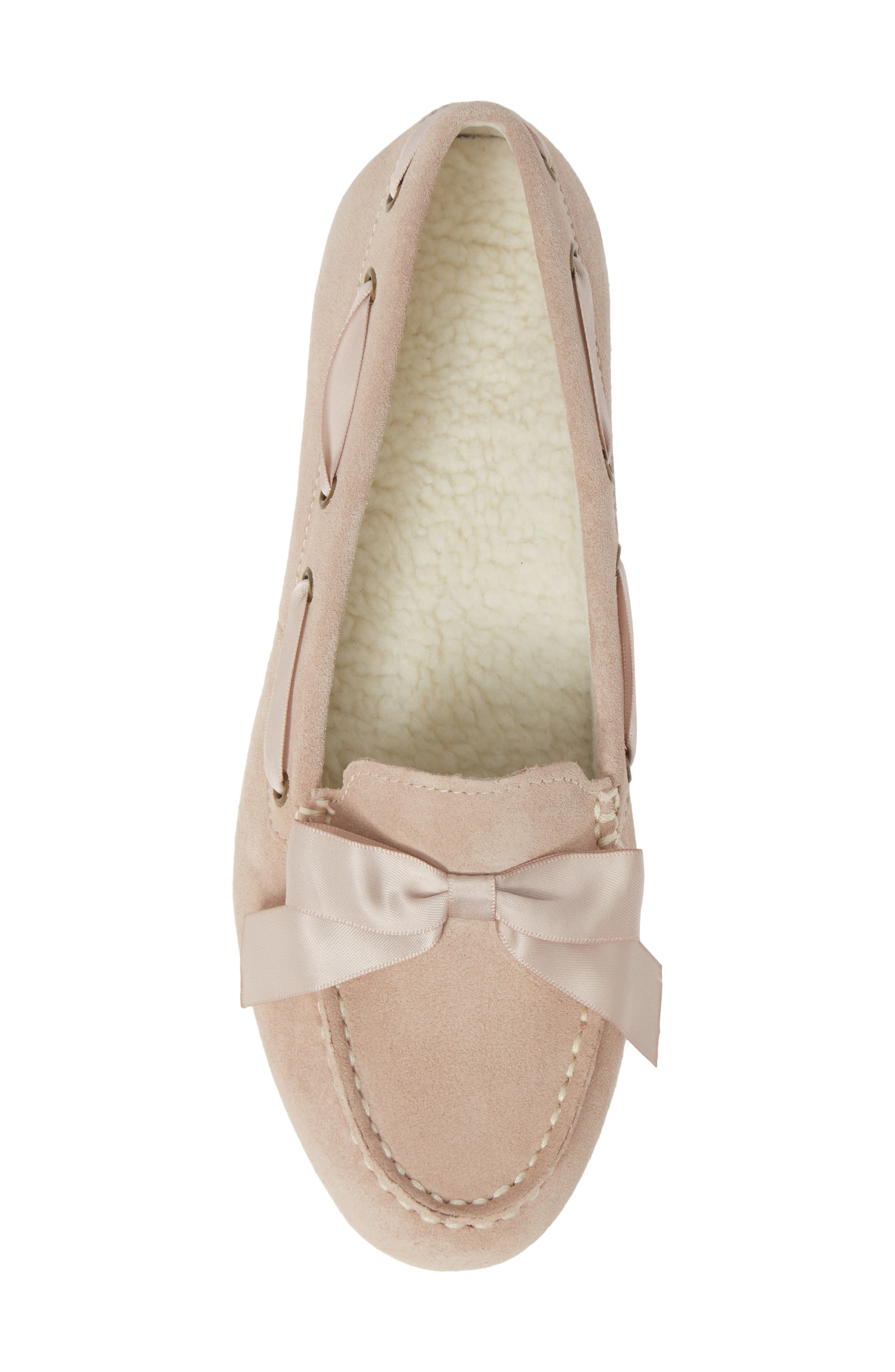 Alice Moccasin,                             Alternate thumbnail 5, color,                             NUDE SUEDE