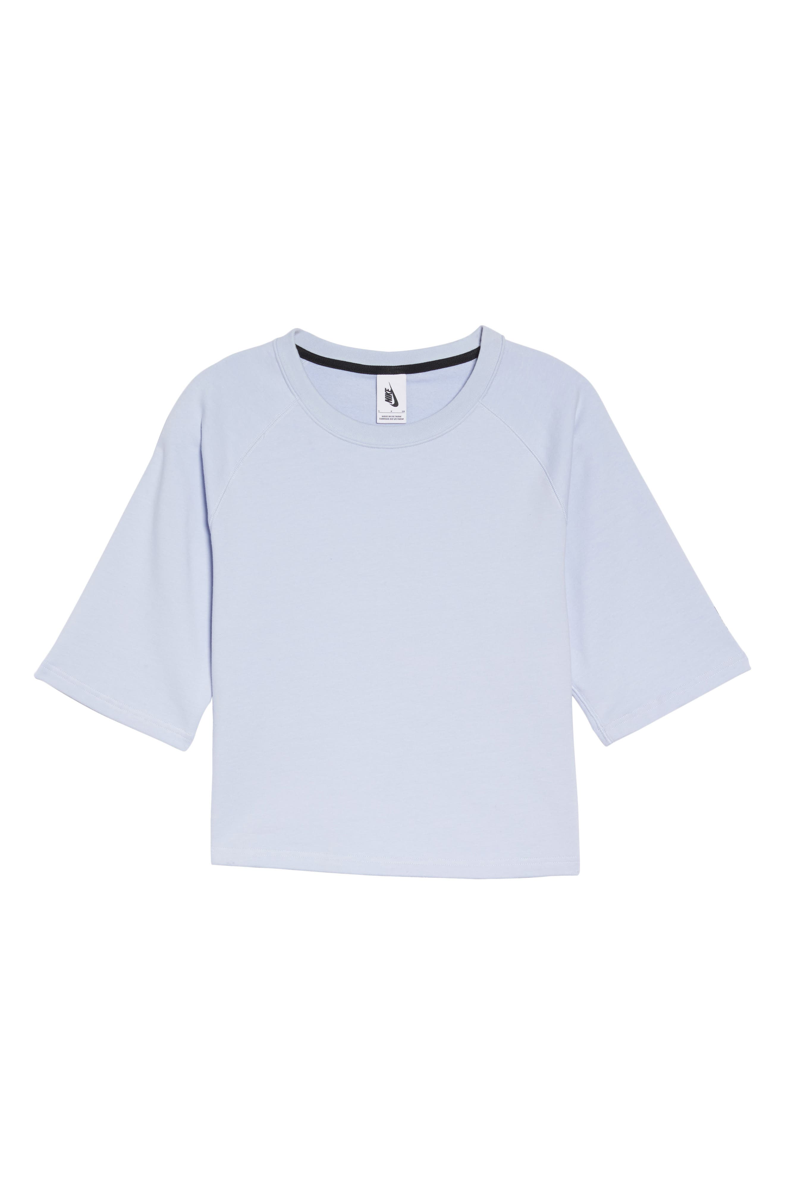 NikeLab Essential Fleece Top,                             Alternate thumbnail 17, color,
