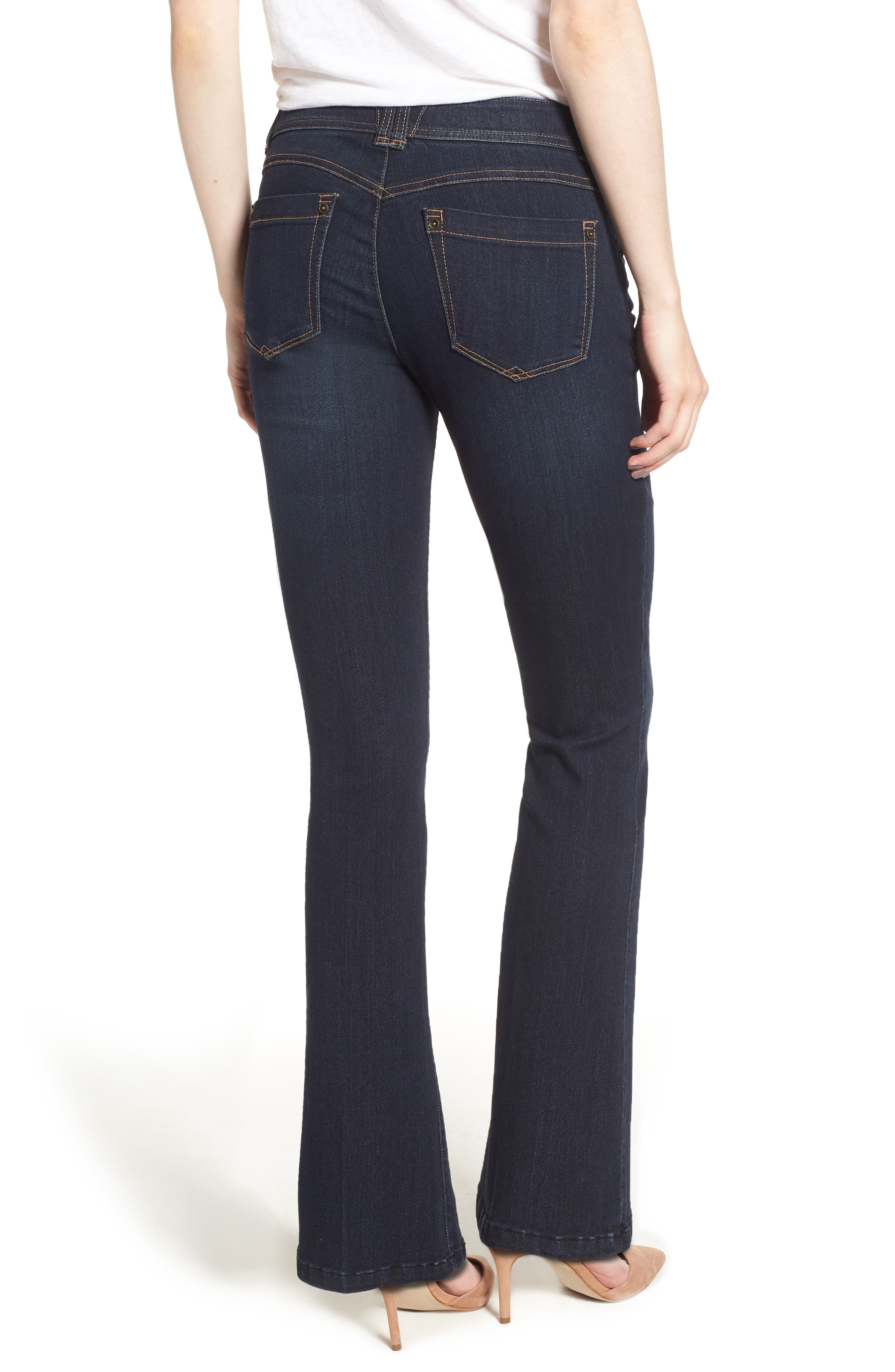 Ab-solution Itty Bitty Bootcut Jeans,                             Alternate thumbnail 2, color,                             402