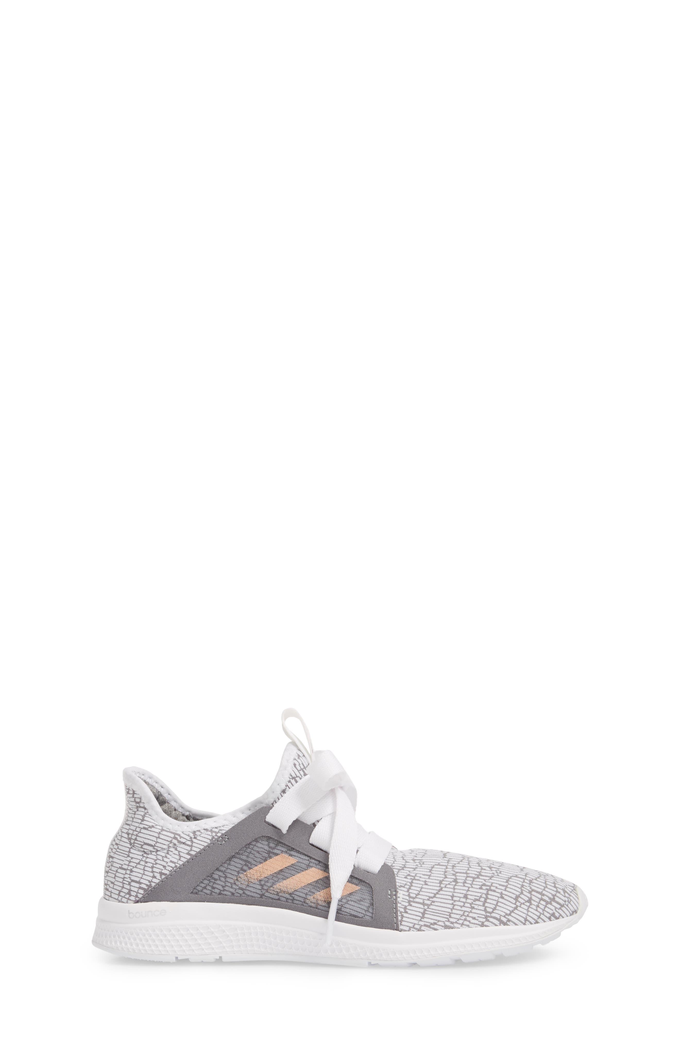 ADIDAS,                             Edge Lux Running Shoe,                             Alternate thumbnail 3, color,                             036