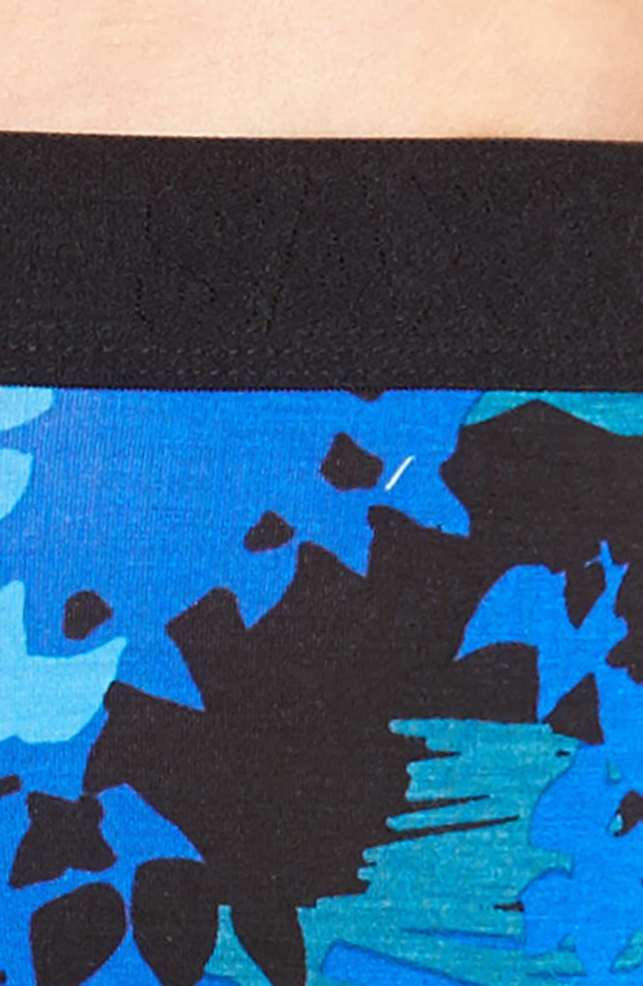 Ultra Tropical Camo Boxer Briefs,                             Alternate thumbnail 4, color,                             431