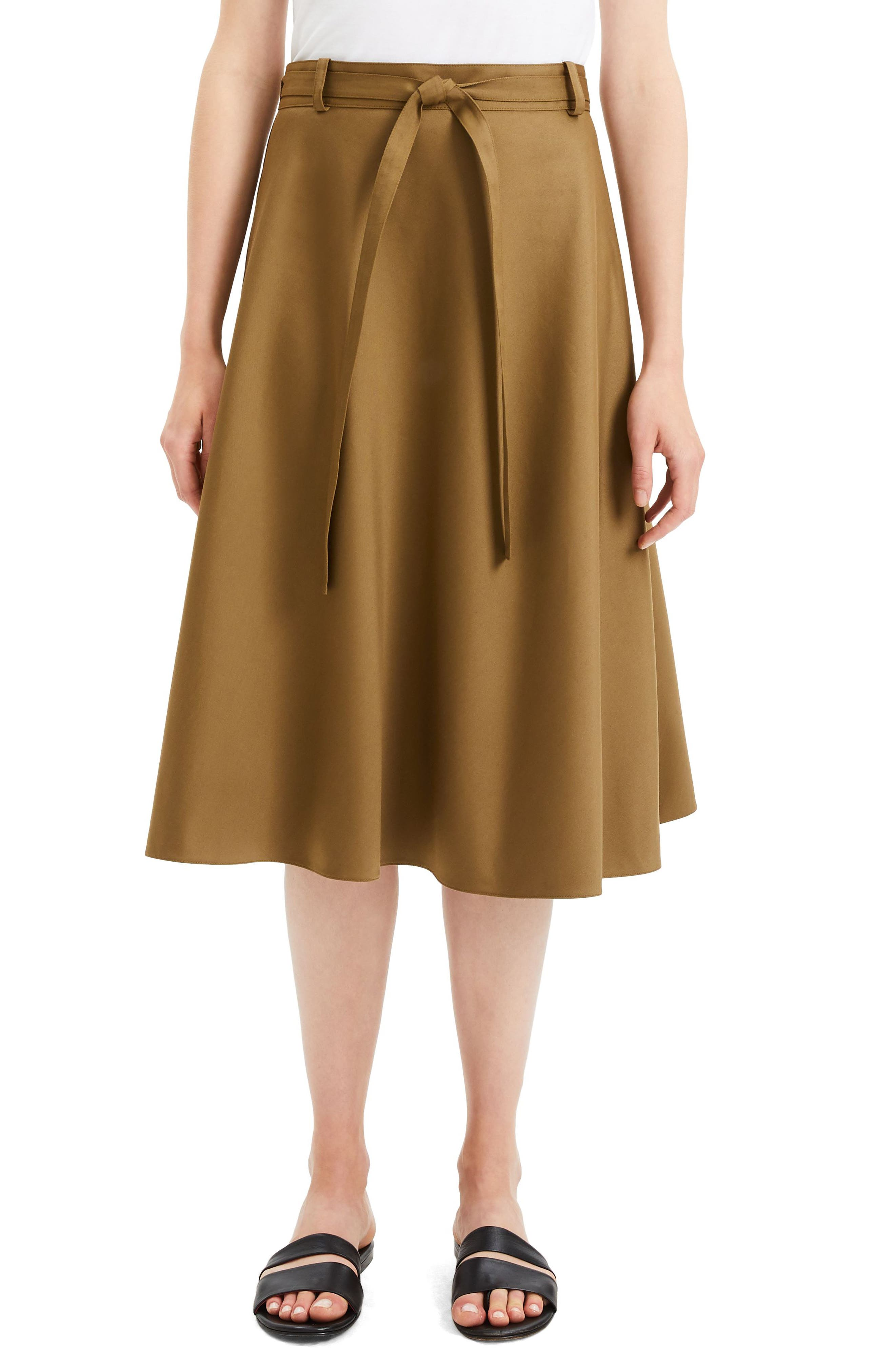 Workwear Skirt, Main, color, ALLSPICE