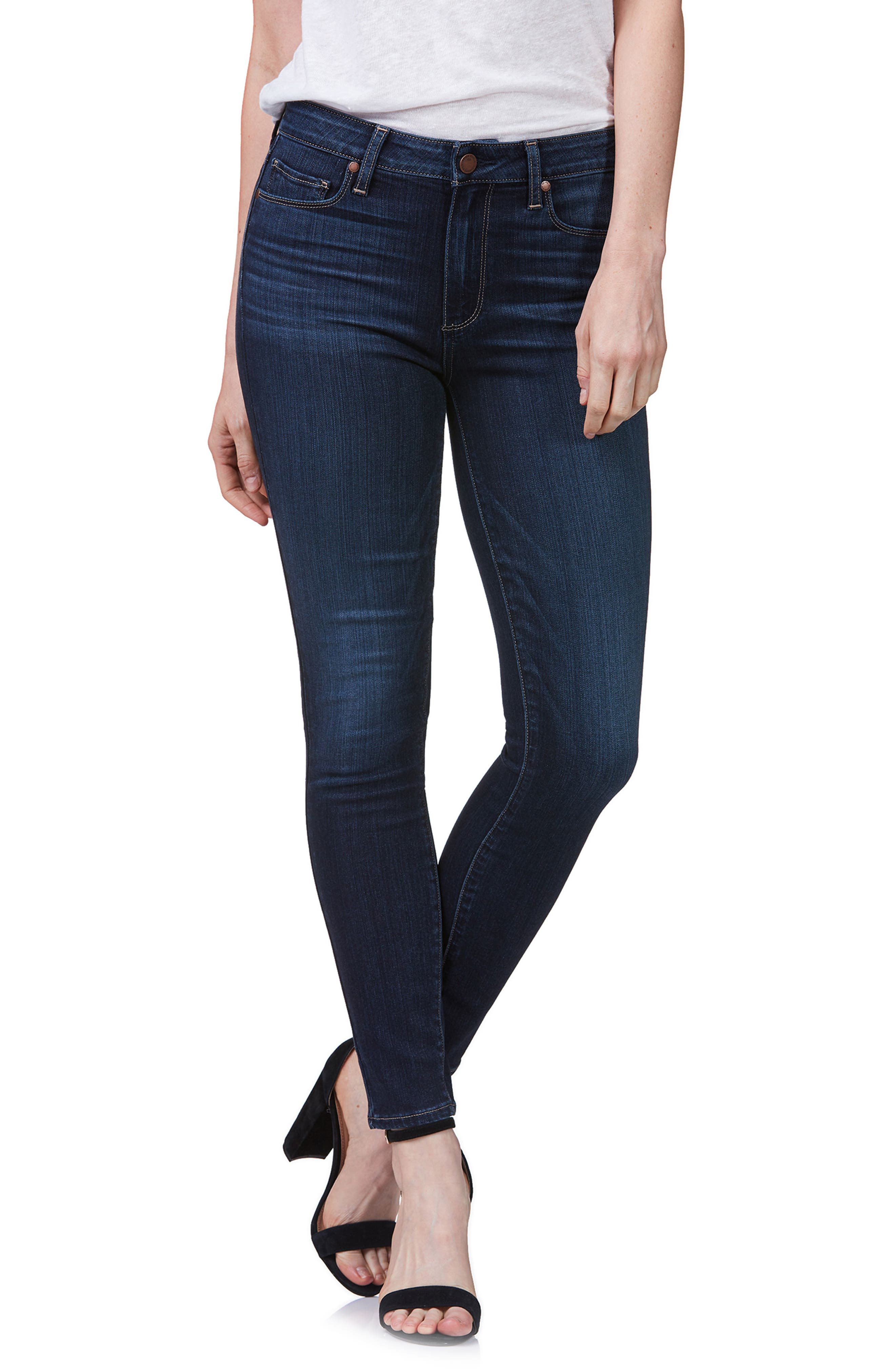 Hoxton High Waist Ultra Skinny Jeans,                         Main,                         color, 400