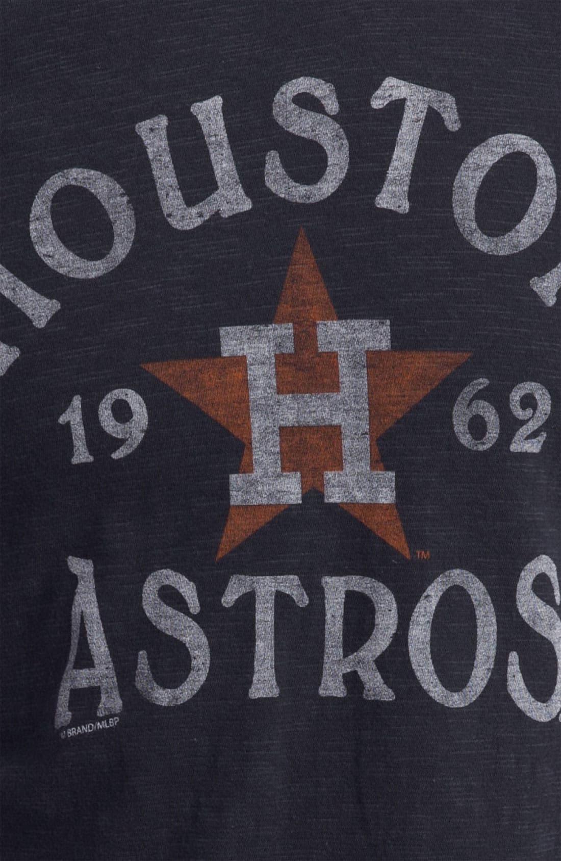 'Chicago Cubs' Regular Fit Crewneck T-Shirt,                             Alternate thumbnail 47, color,
