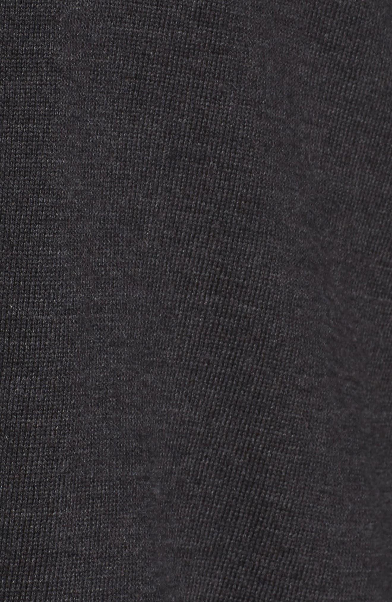 Merino Wool Turtleneck Sweater,                             Alternate thumbnail 5, color,                             021