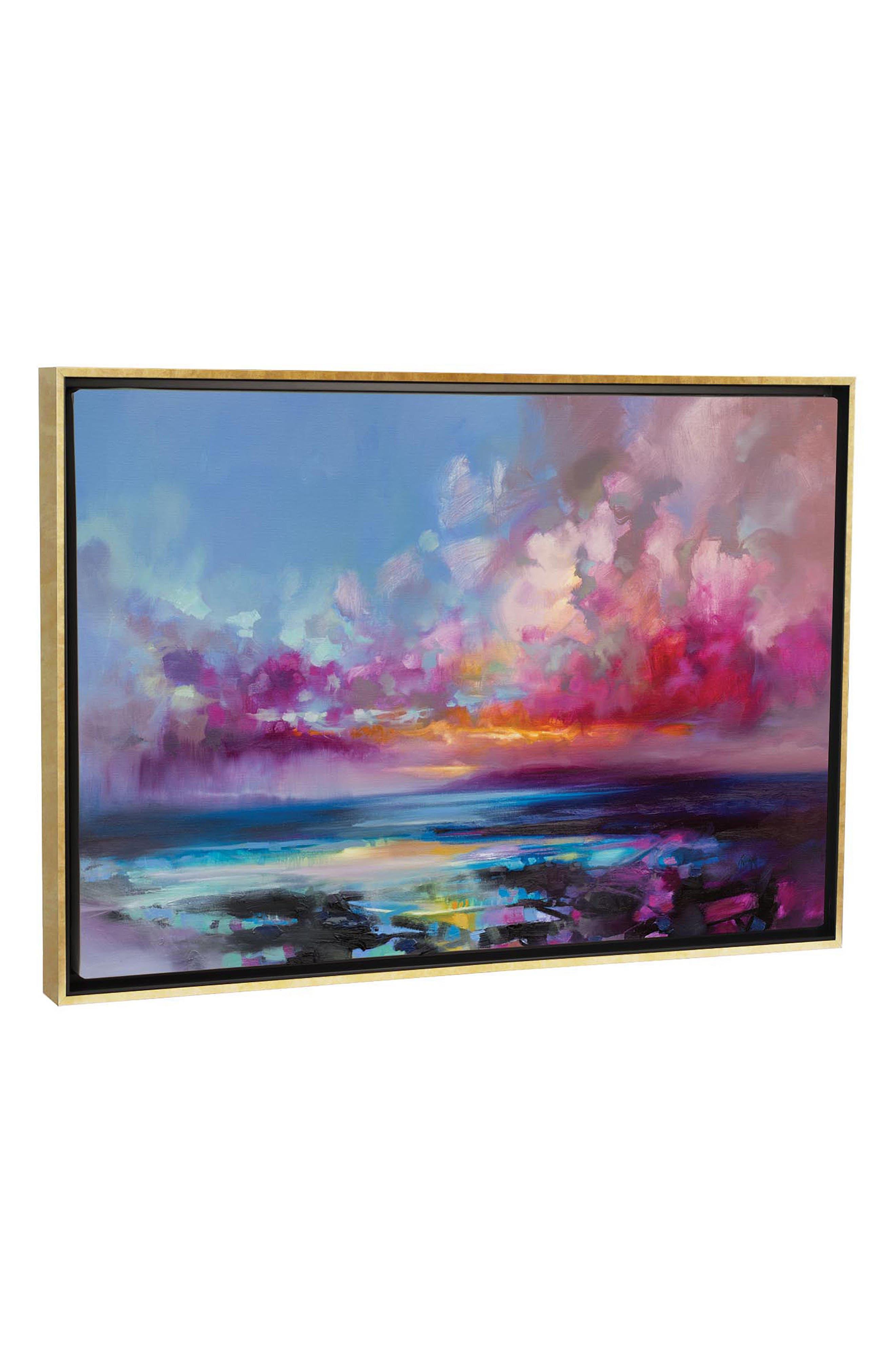 Arran Glow by Scott Naismith Giclée Print Canvas Art,                             Main thumbnail 1, color,                             BLUE