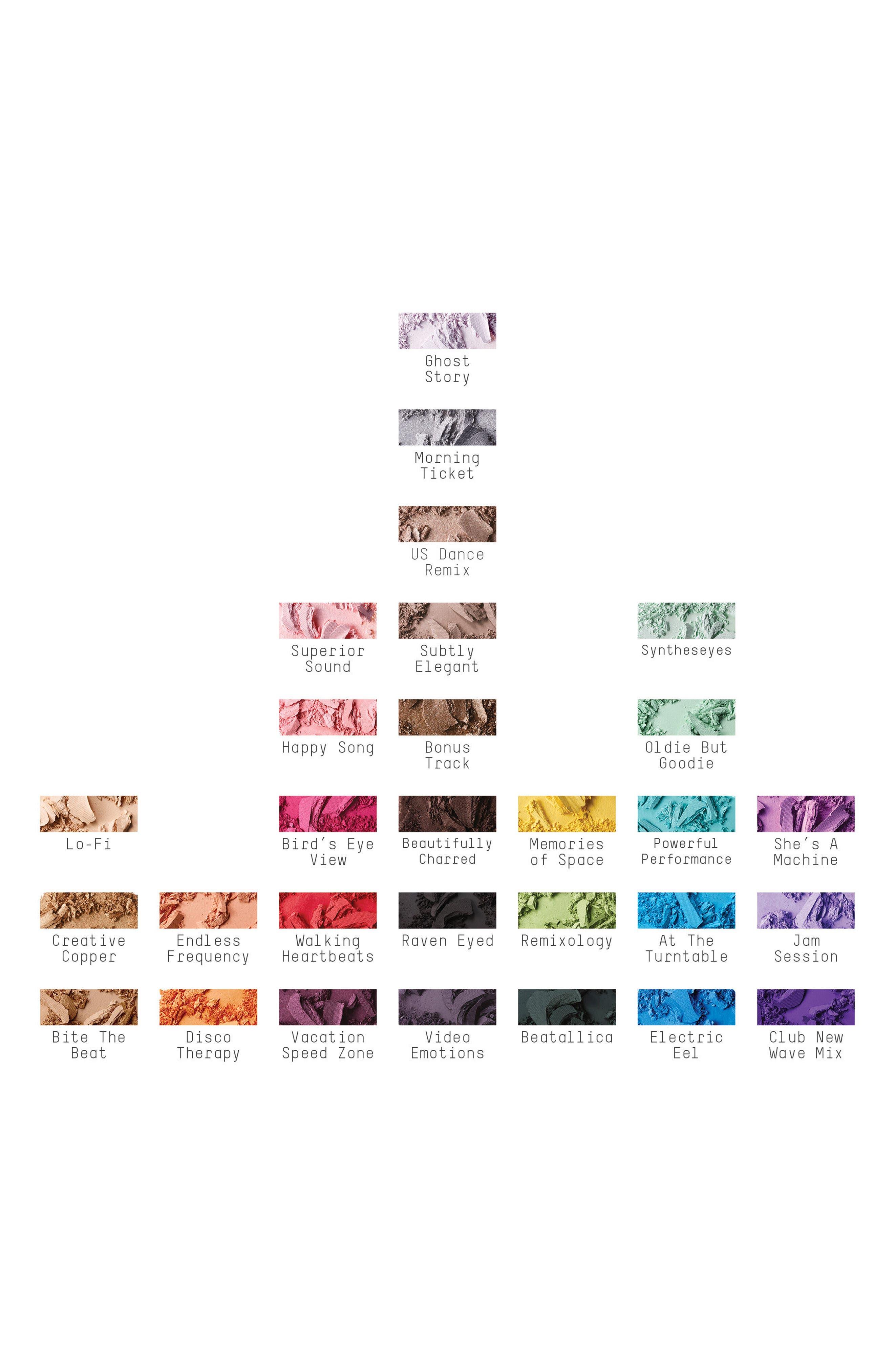 MAC Jeremy Scott Eyeshadow Palette,                             Alternate thumbnail 4, color,                             000