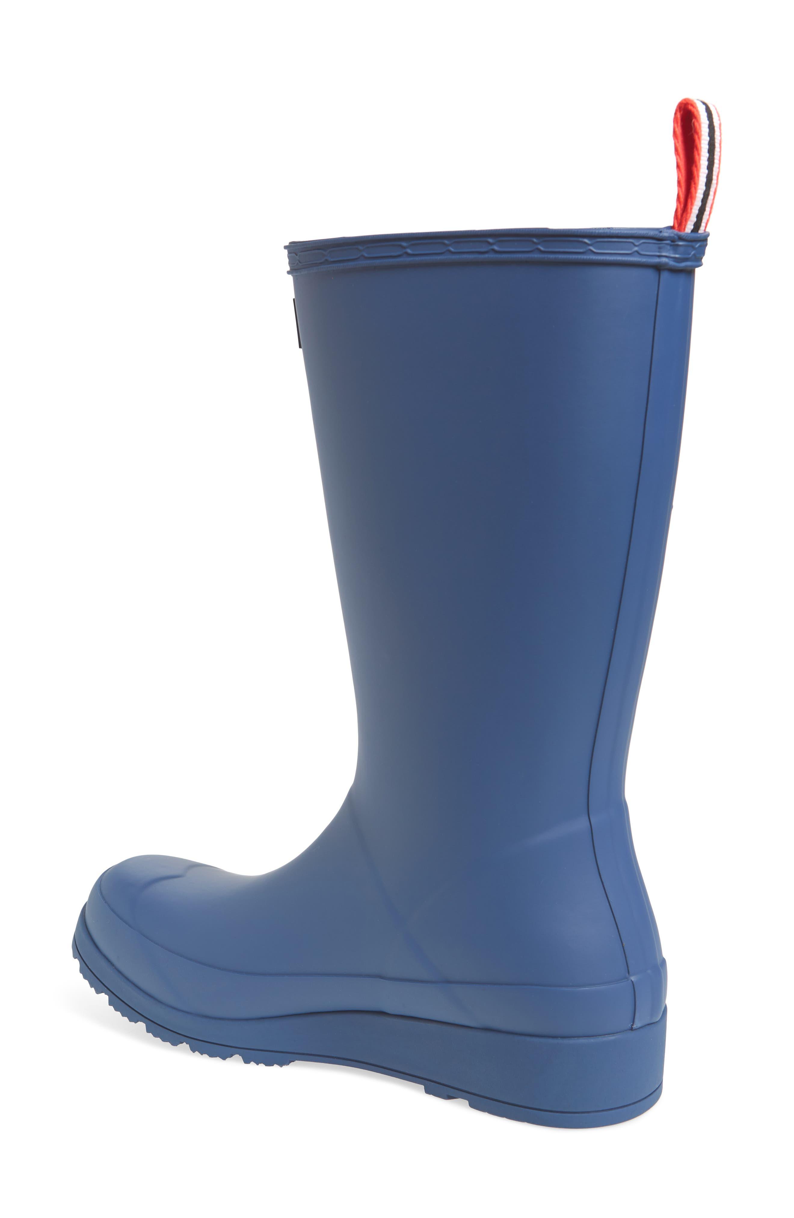 Original Play Tall Rain Boot,                             Alternate thumbnail 2, color,                             PEAK BLUE