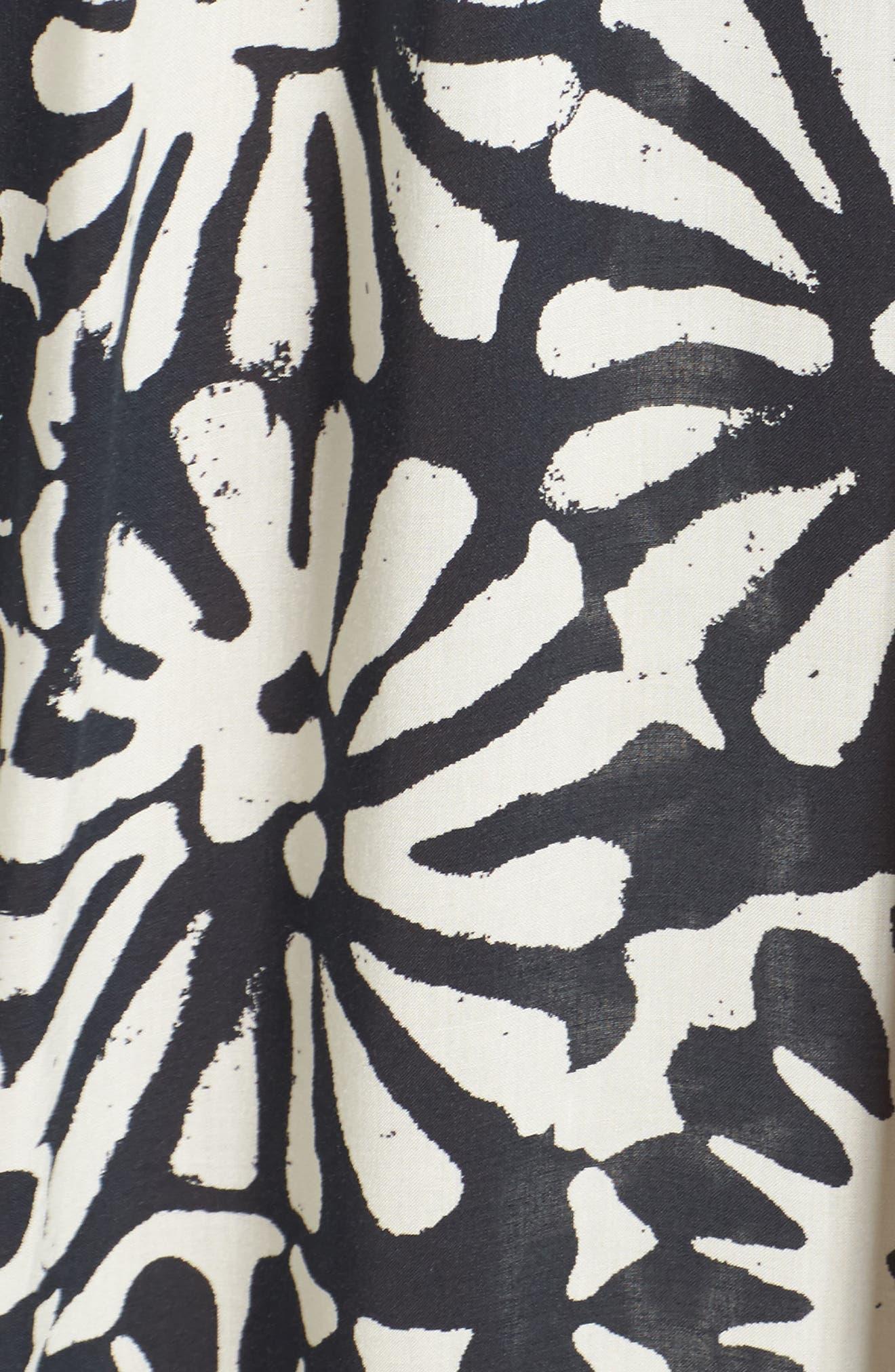 Pomelo Floral Cover-Up Dress,                             Alternate thumbnail 5, color,