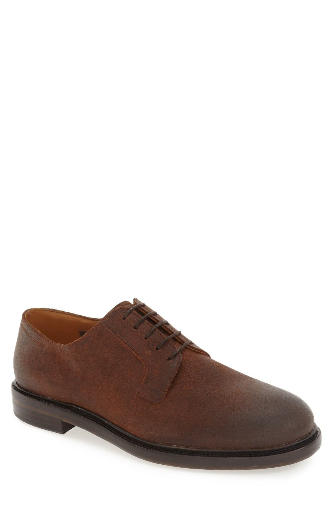 'Samtin' Plain Toe Blucher,                             Main thumbnail 2, color,
