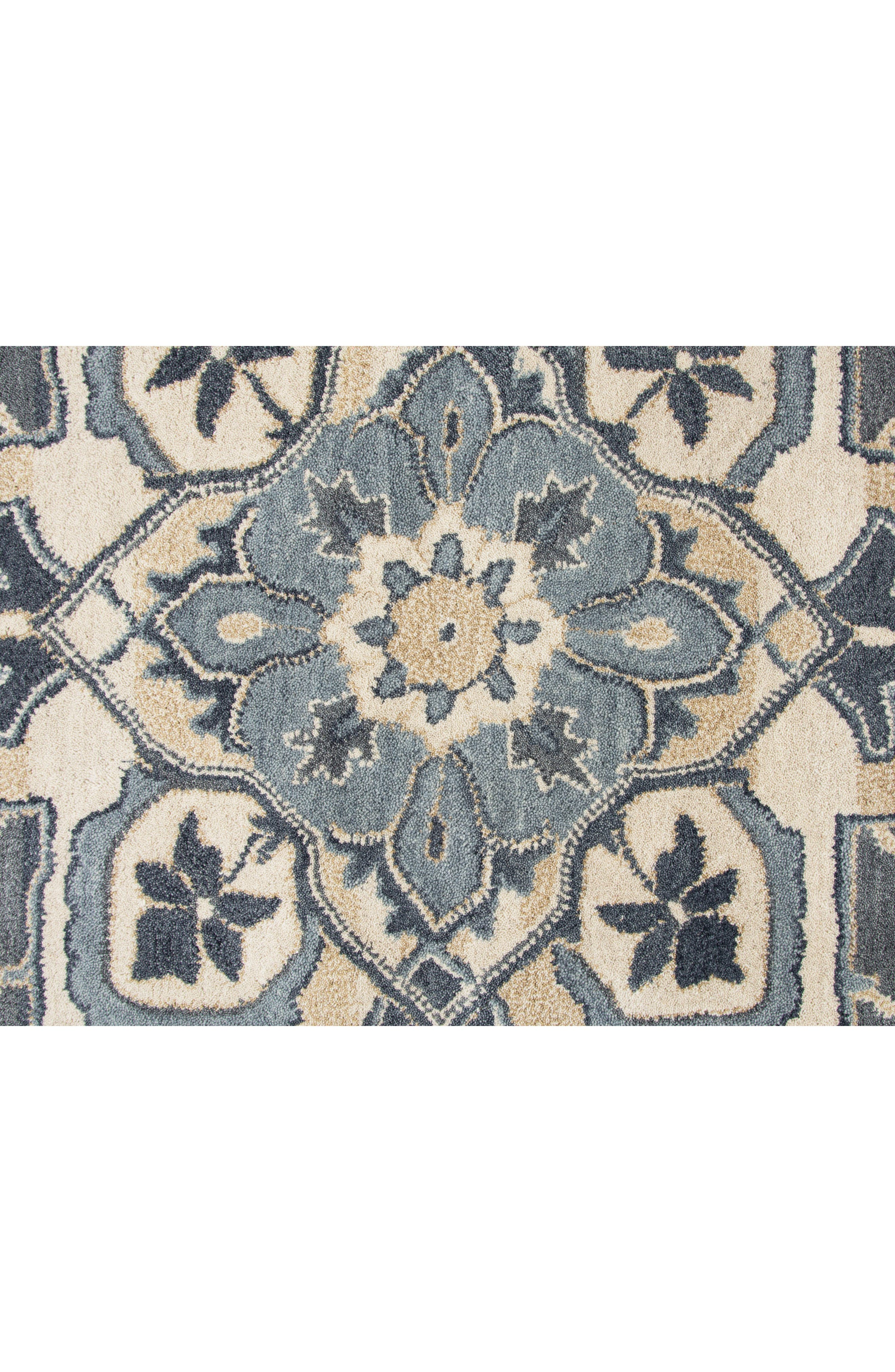 Veronica Hand Tufted Wool Rug,                             Alternate thumbnail 3, color,                             400