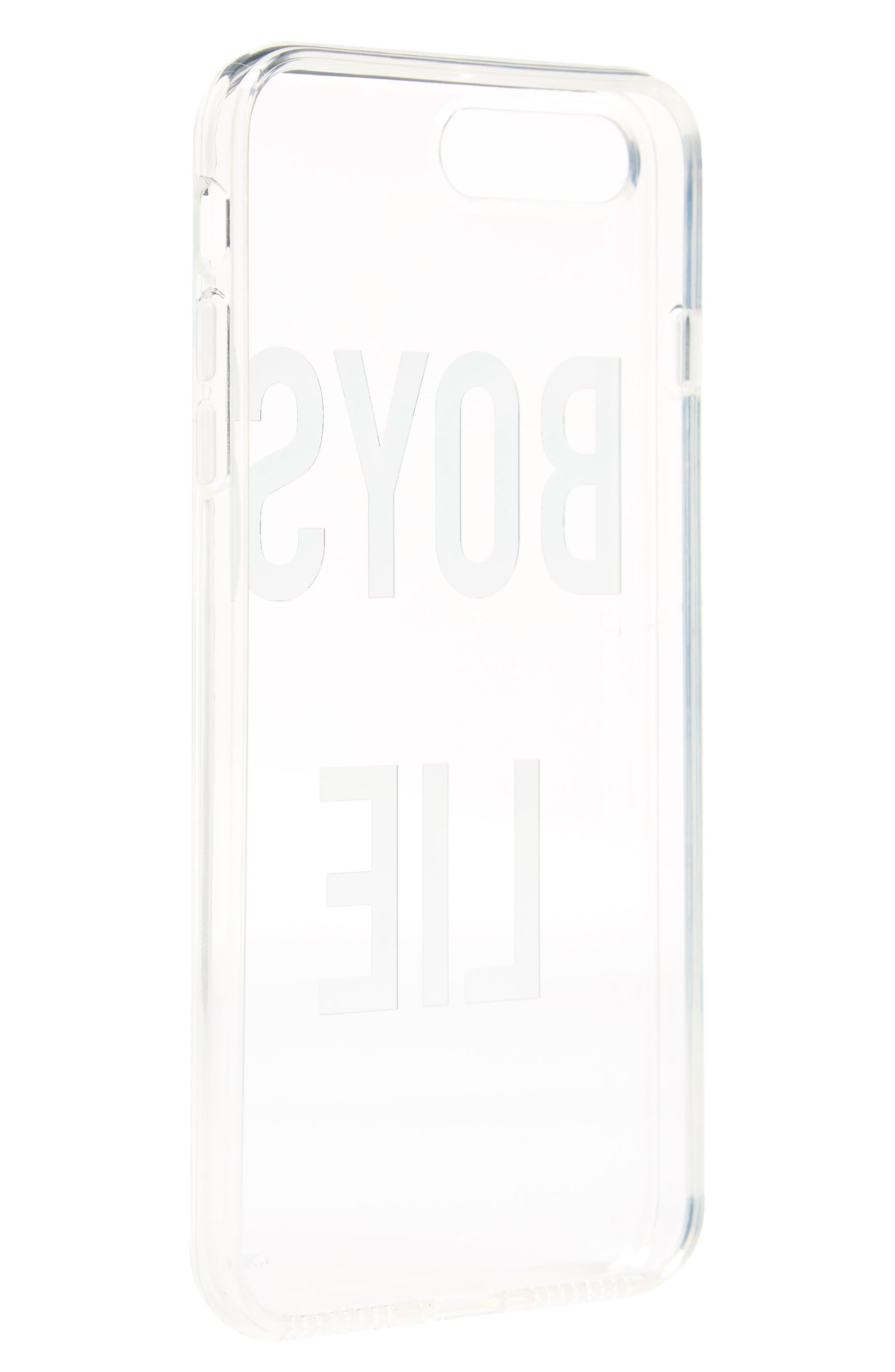 Boys Lie iPhone 7 Plus Case,                             Alternate thumbnail 2, color,