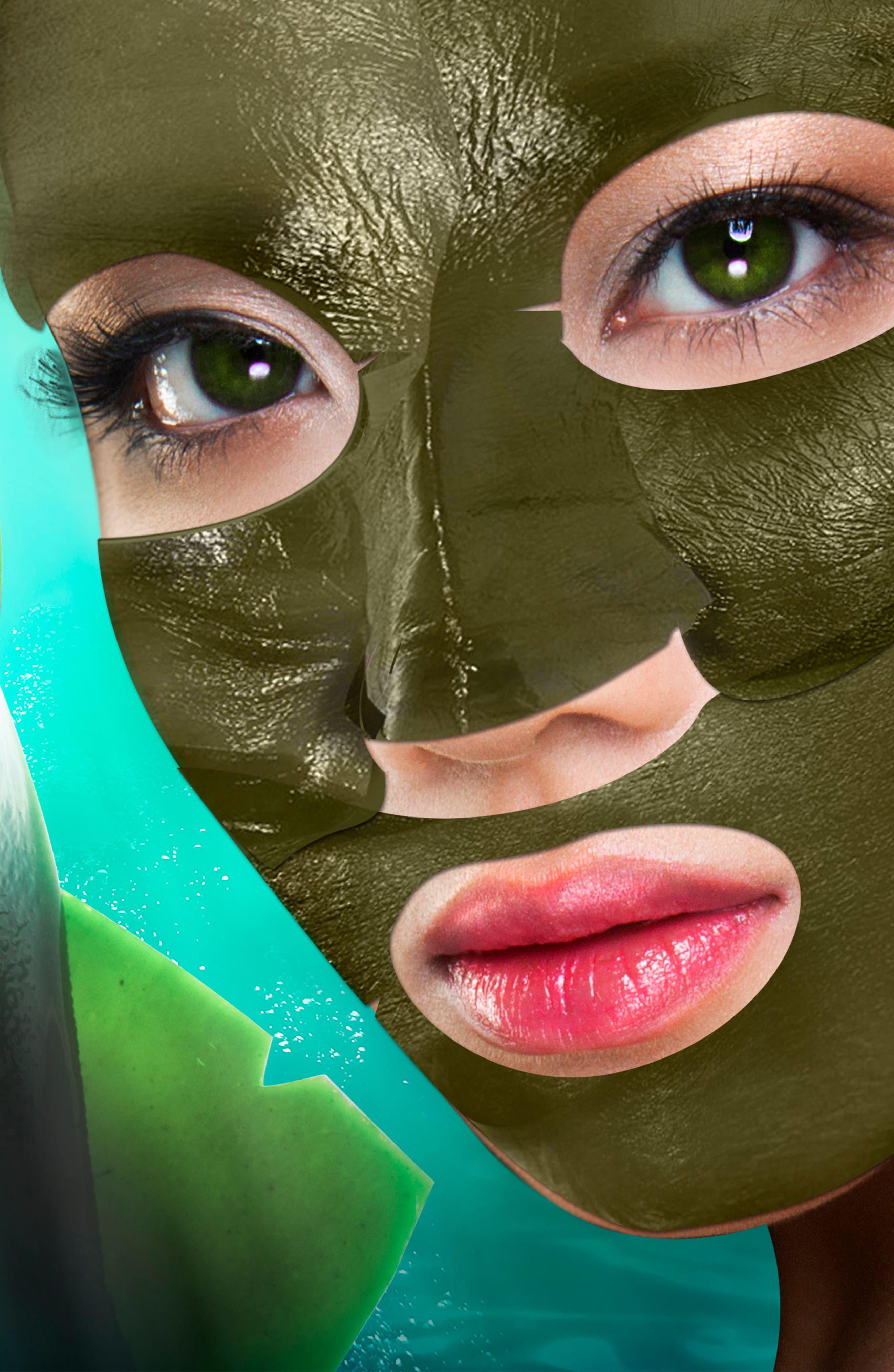 The Master Cleanser Detoxing Sea Kelp Leaf Face Mask,                             Alternate thumbnail 2, color,                             NO COLOR