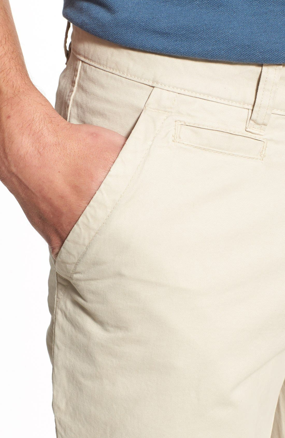 'Sahara' Trim Fit Vintage Washed Twill Chinos,                             Alternate thumbnail 25, color,