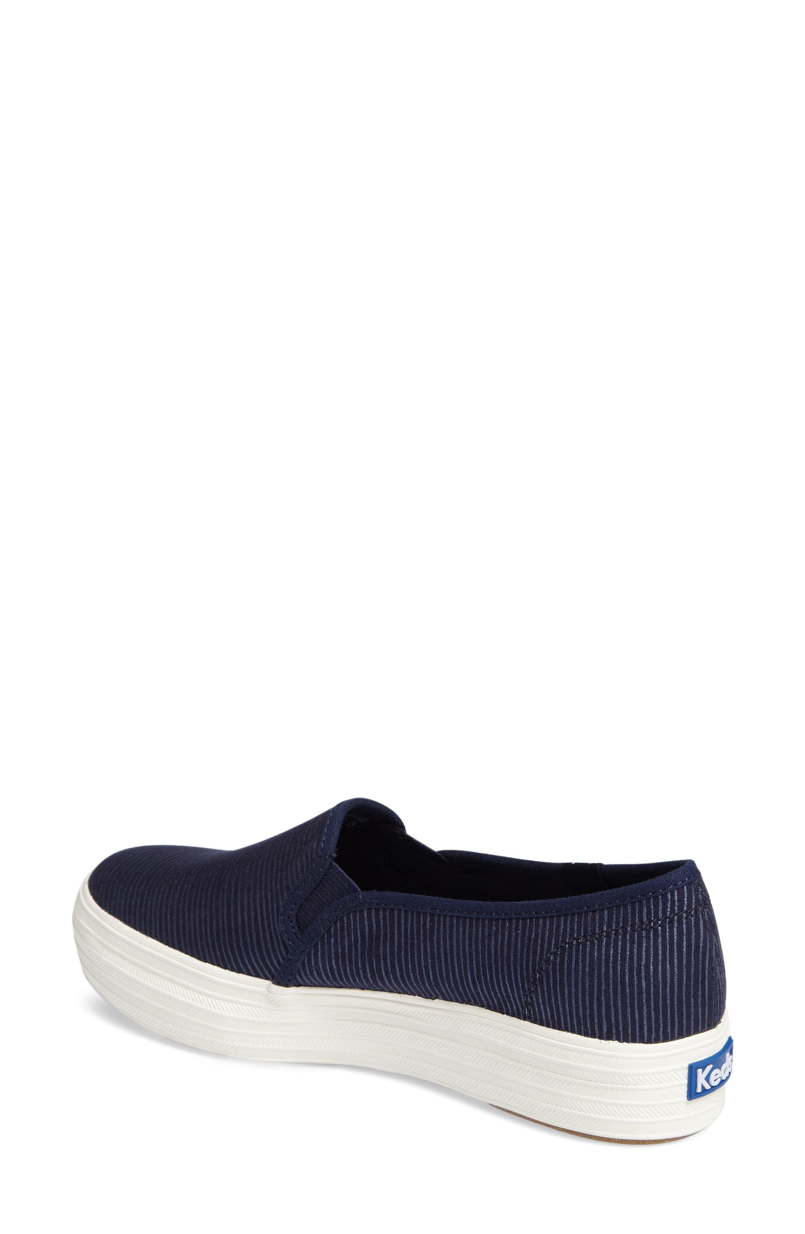 Triple Decker Slip-On Platform Sneaker,                             Alternate thumbnail 16, color,