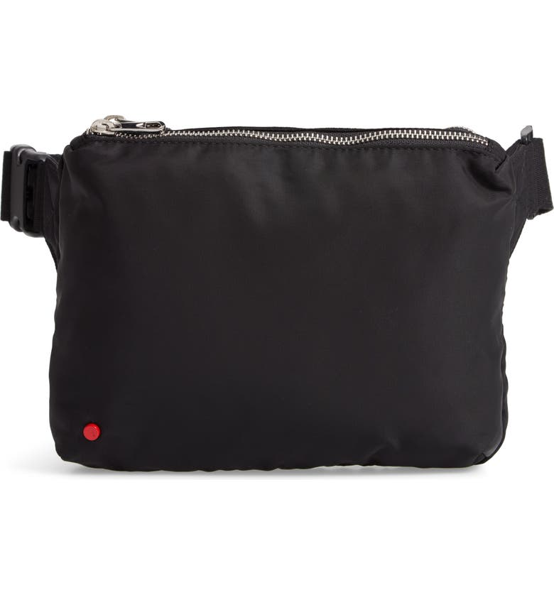 State WEBSTER BELT BAG - BLACK