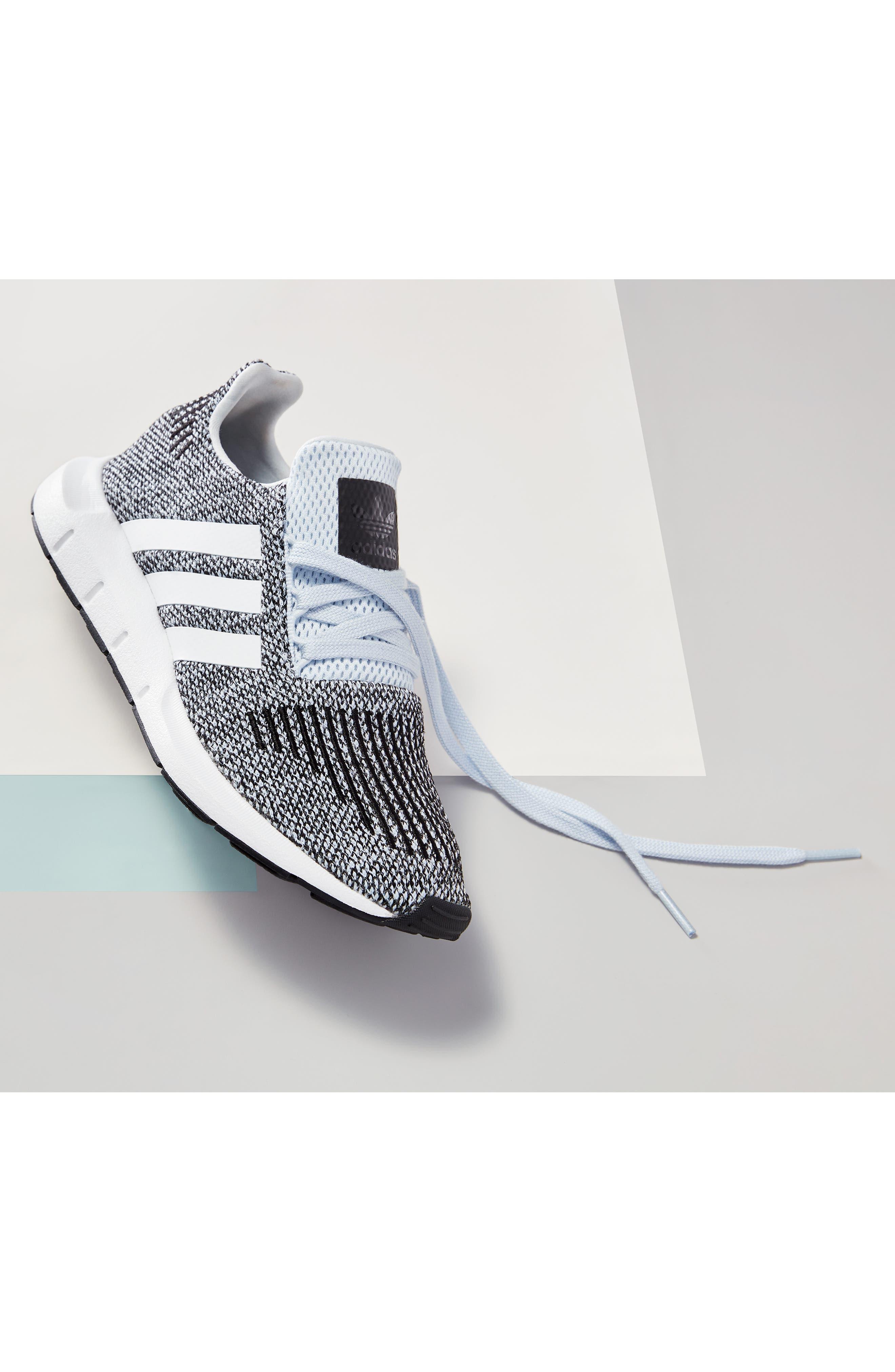Swift Run J Sneaker,                             Alternate thumbnail 12, color,                             SEMI SOLAR PINK/ WHITE