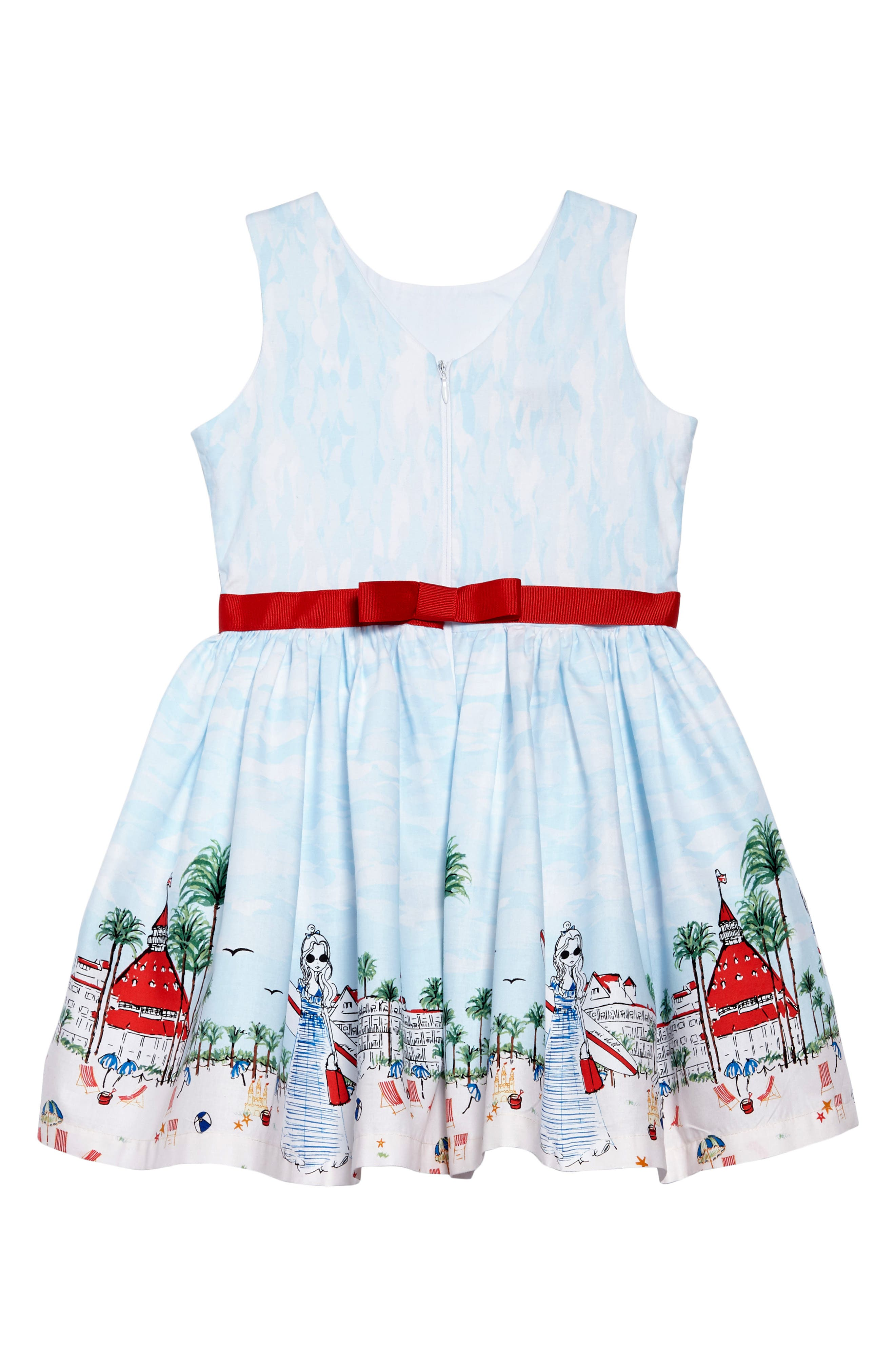 Just Shellin Party Dress,                             Alternate thumbnail 2, color,                             100