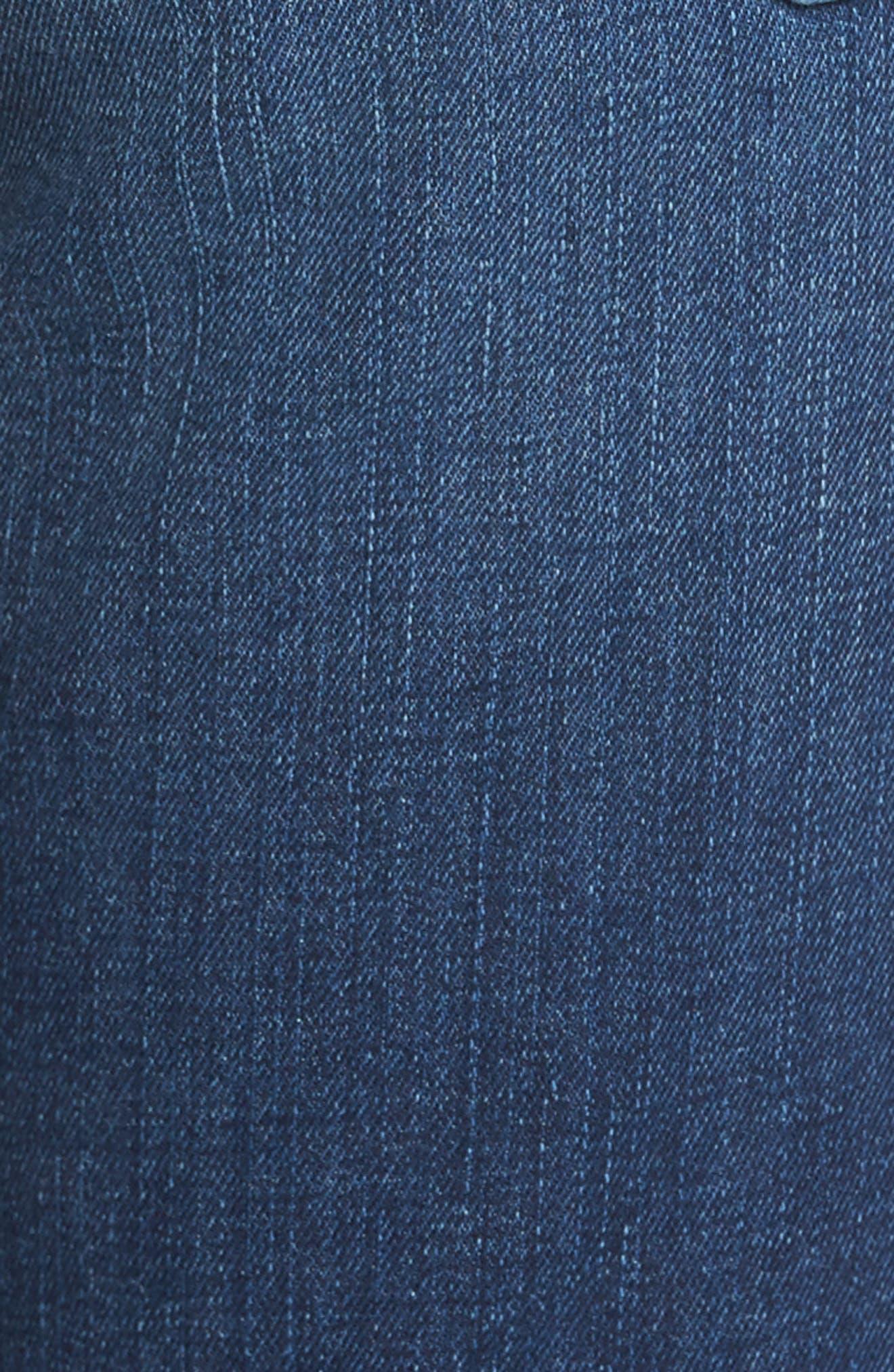 Coco Curvy Straight Leg Jeans,                             Alternate thumbnail 5, color,                             405