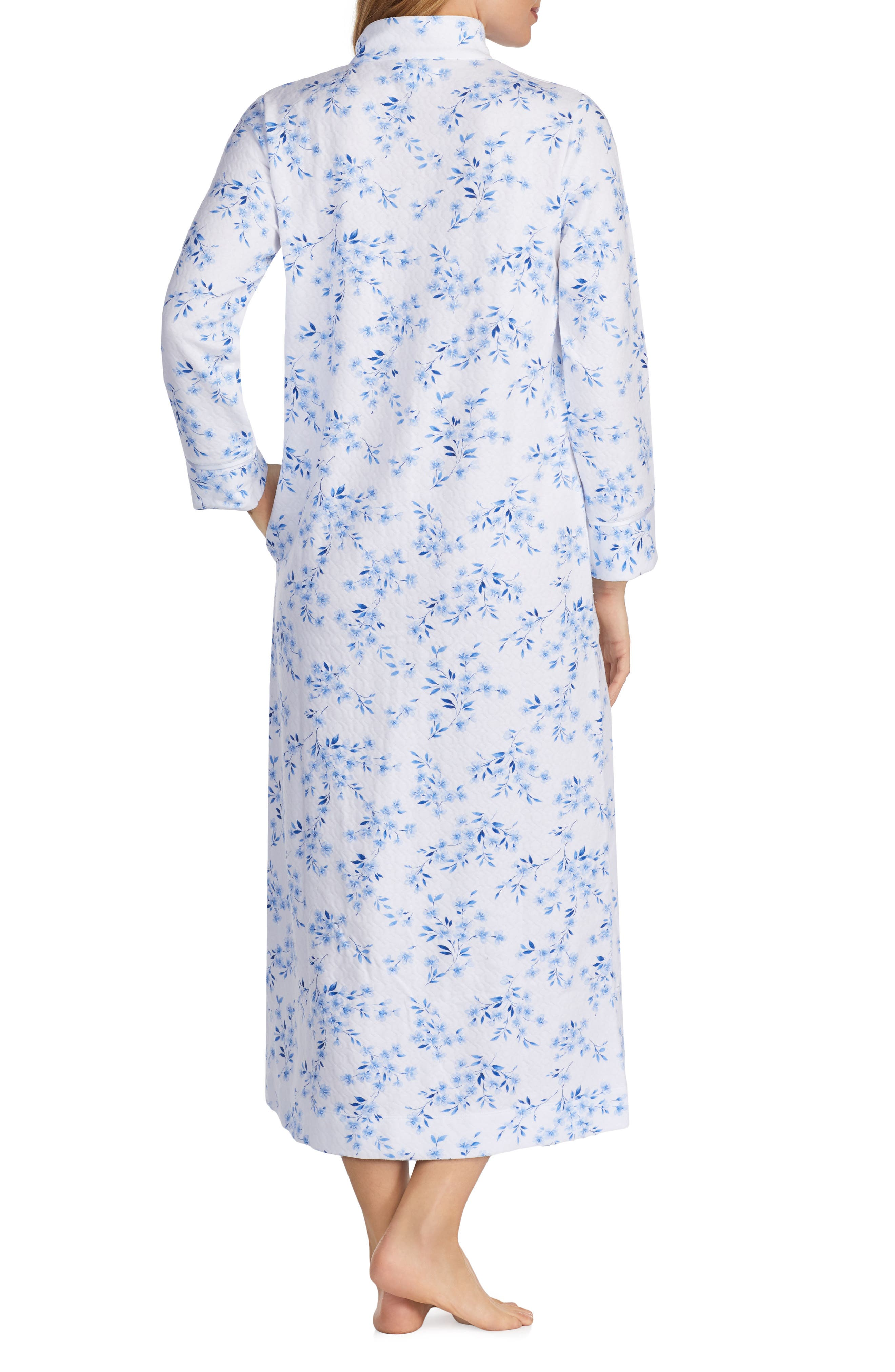 Quilted Robe,                             Alternate thumbnail 2, color,                             FLORAL TWIN