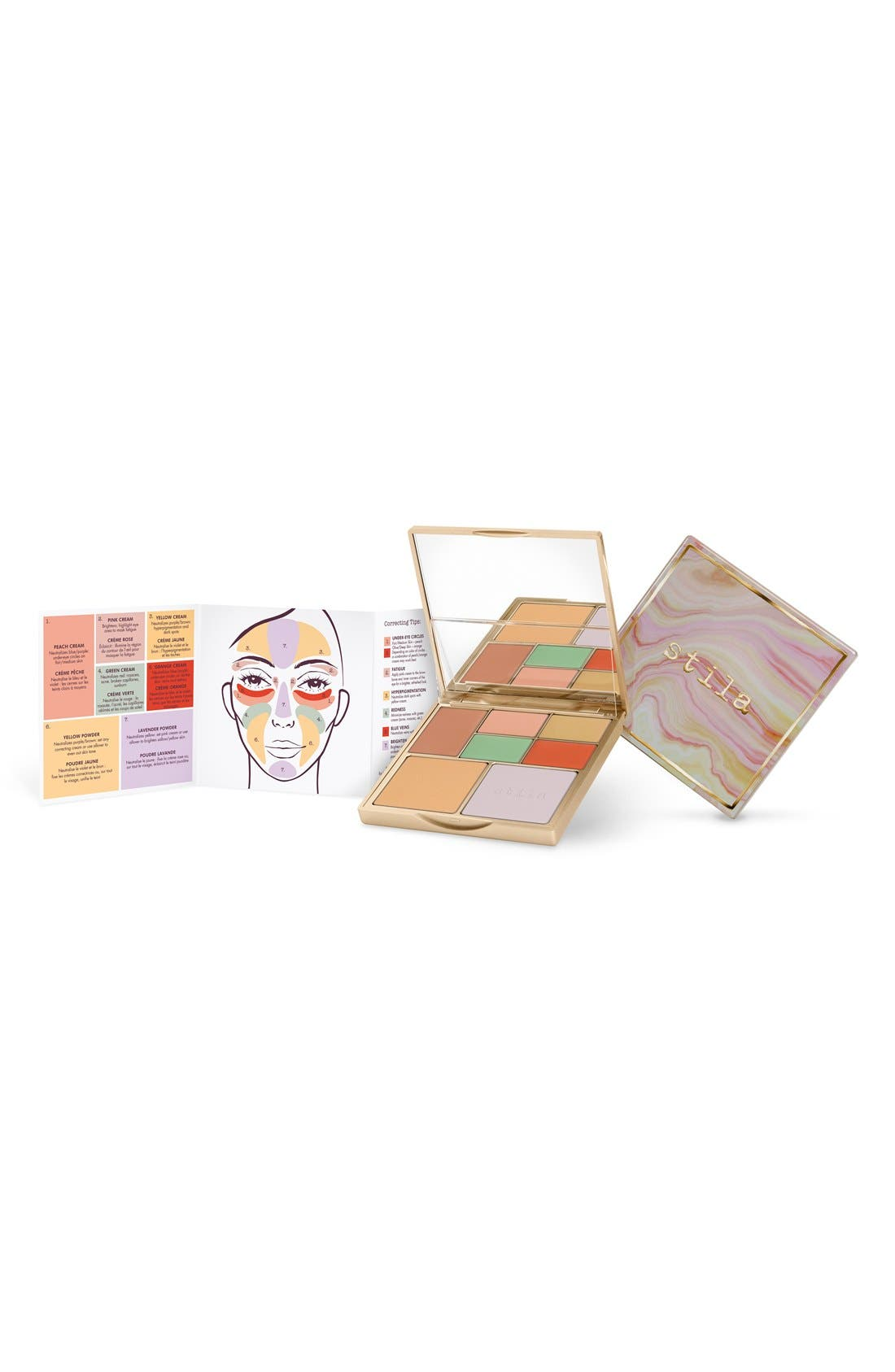 STILA,                             Correct & Perfect All-in-One Color Correcting Palette,                             Alternate thumbnail 4, color,                             NO COLOR