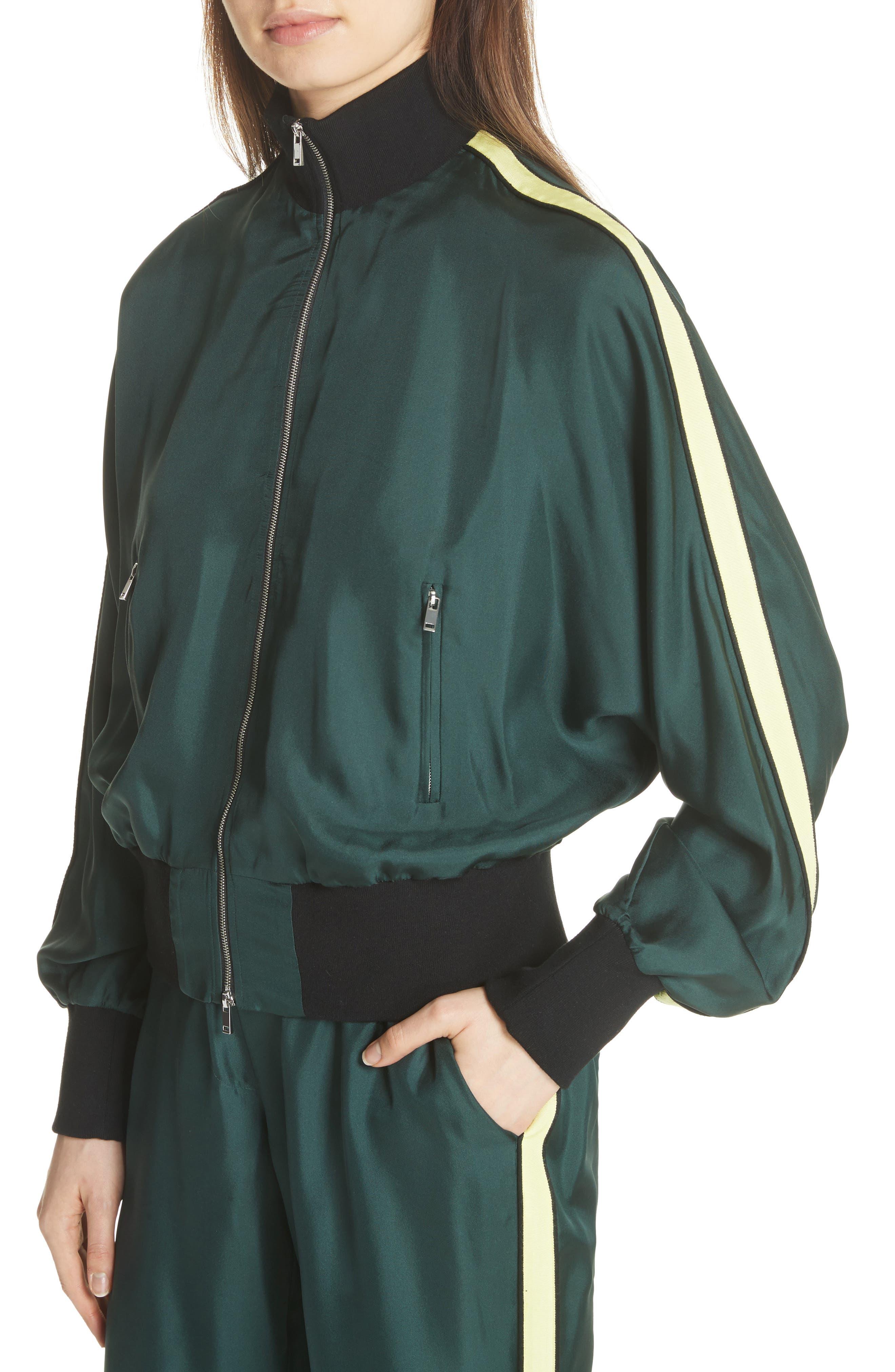Silk Track Jacket,                             Alternate thumbnail 4, color,                             310