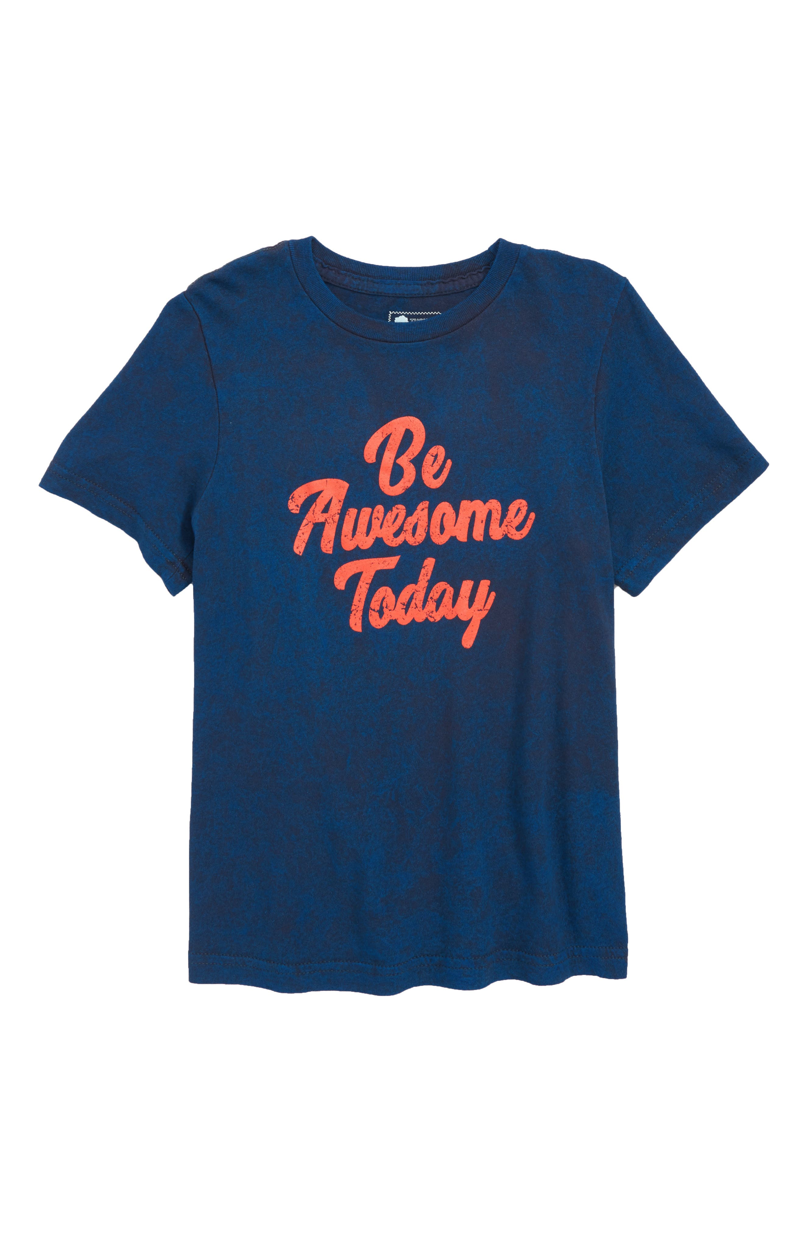 Graphic T-Shirt,                         Main,                         color, BLUE WING BE AWESOME