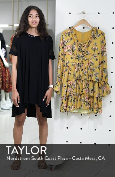 Floral Ruffle Dress, sales video thumbnail