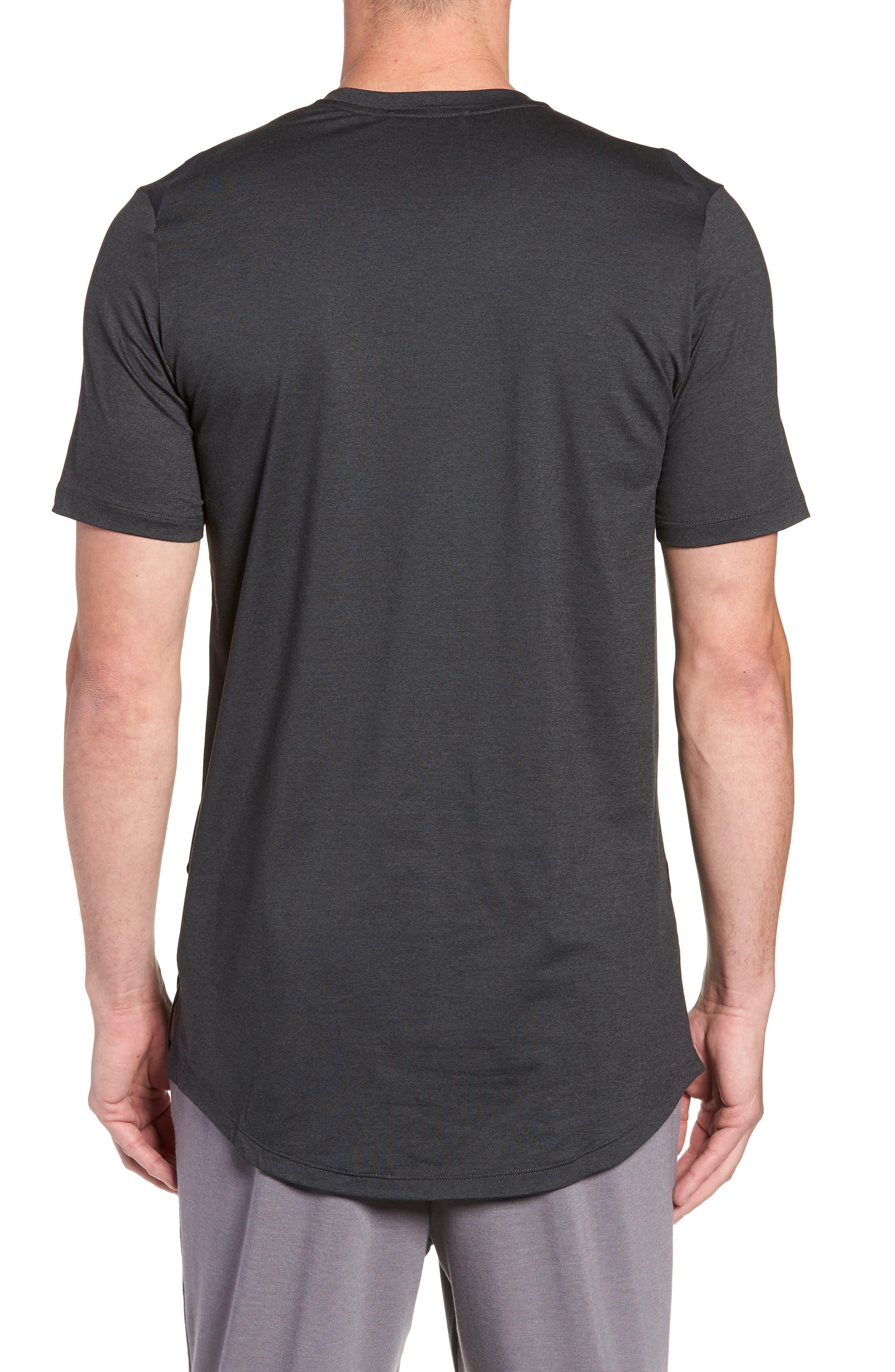 Dry Max Training T-Shirt,                             Alternate thumbnail 2, color,                             BLACK/ ANTHRACITE/ COBALT