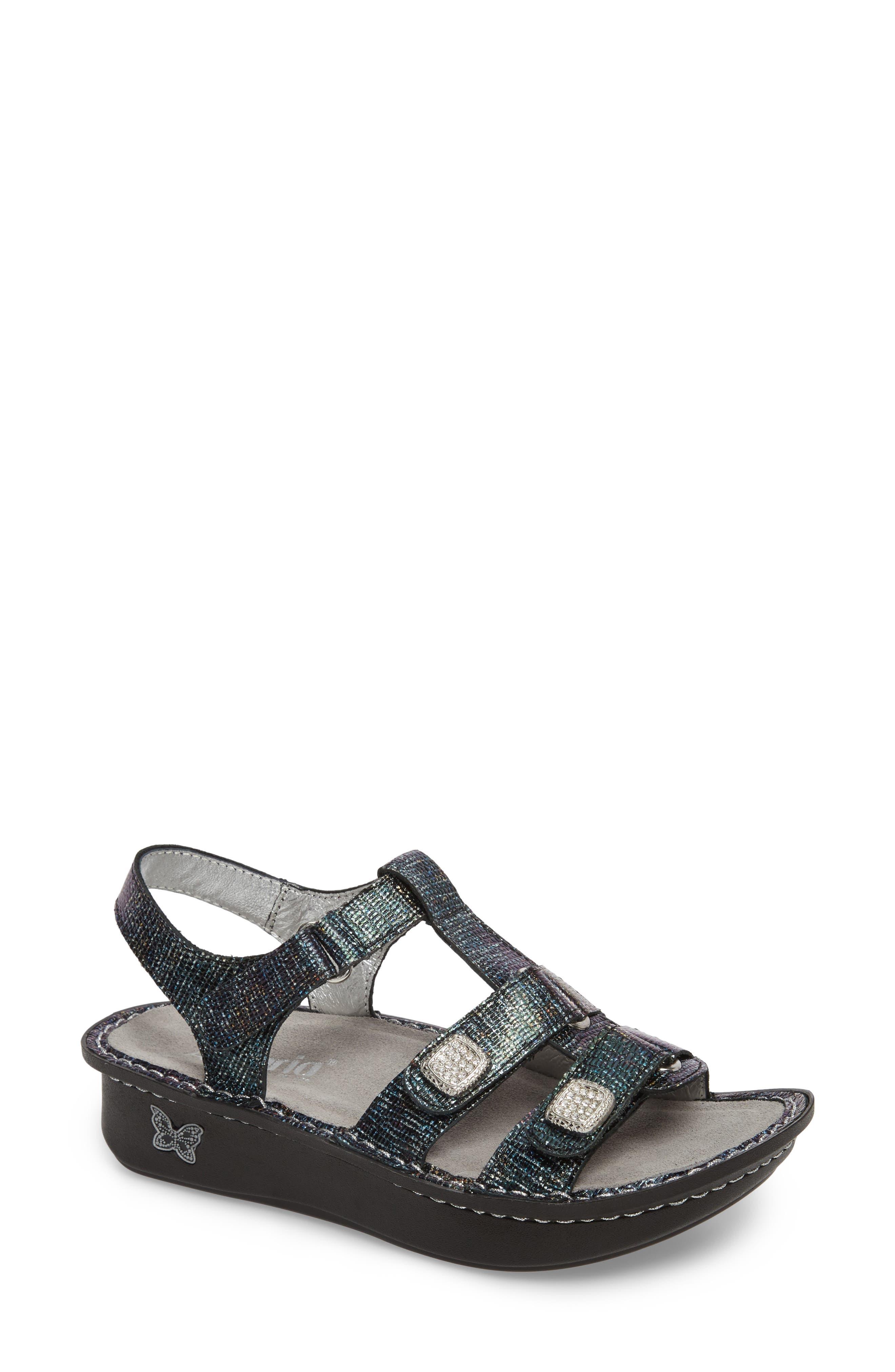'Kleo' Sandal,                             Main thumbnail 1, color,                             002