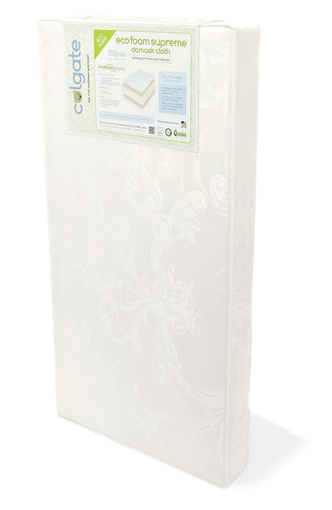 STOKKE Colgate 'Home<sup>™</sup>' Bed Mattress, Main, color, WHITE