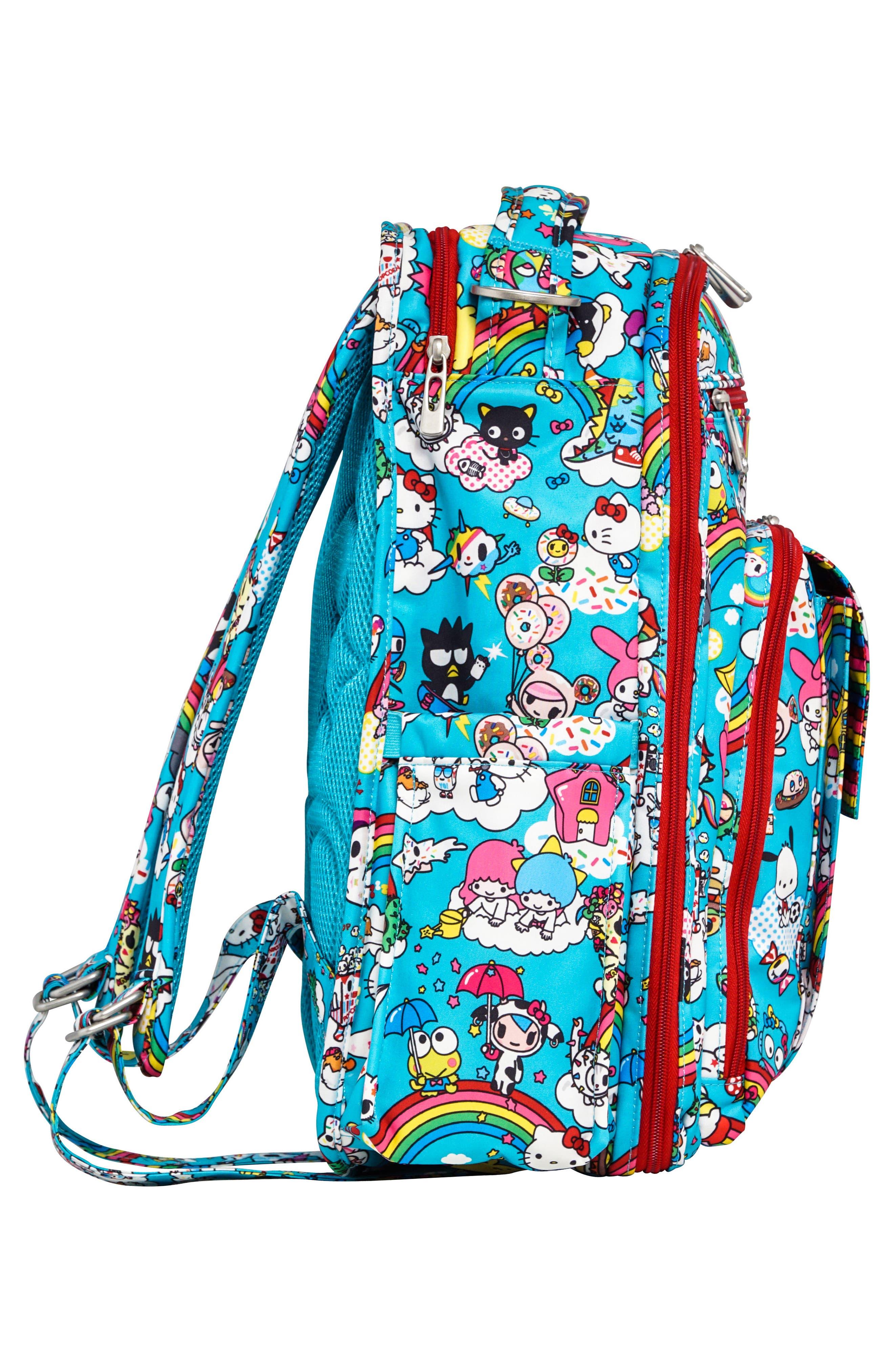 x tokidoki for Hello Sanrio Rainbow Dreams Be Mini Backpack,                             Alternate thumbnail 3, color,                             433